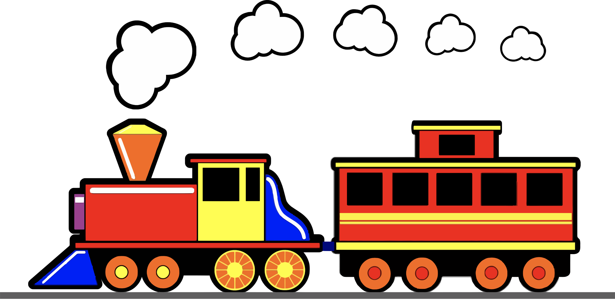 Toy Train by JayNick