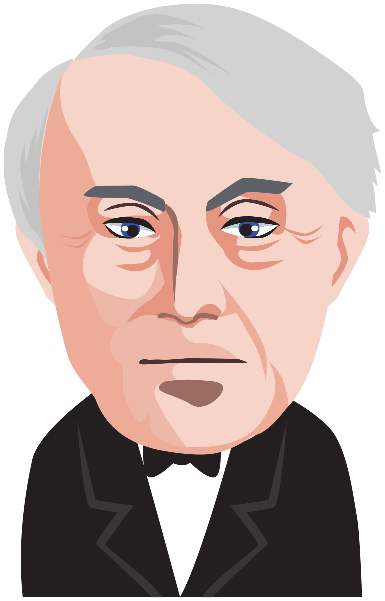 Thomas Alva Edison by Juhele
