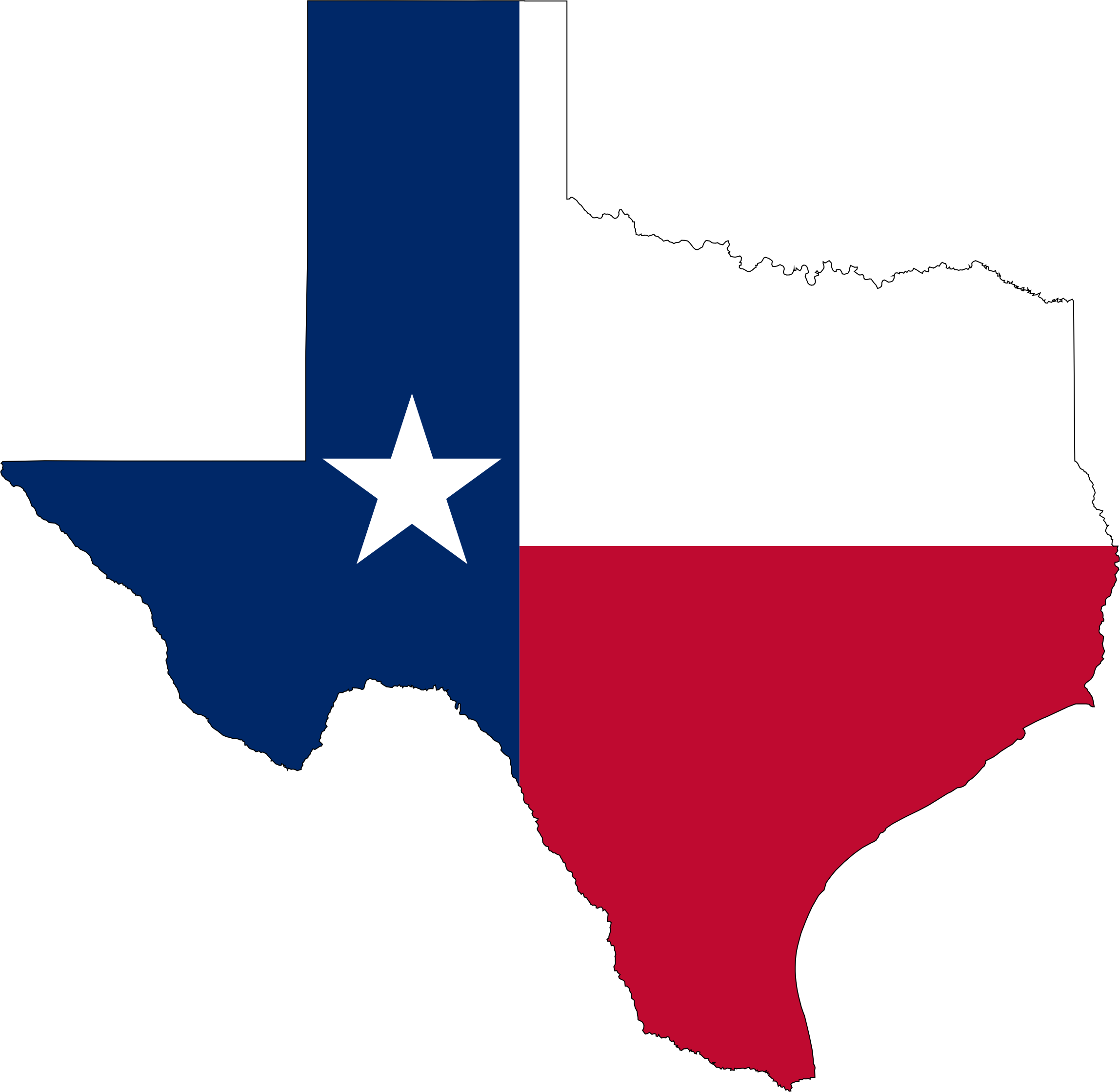 texas state flag map. clipart  texas state flag map