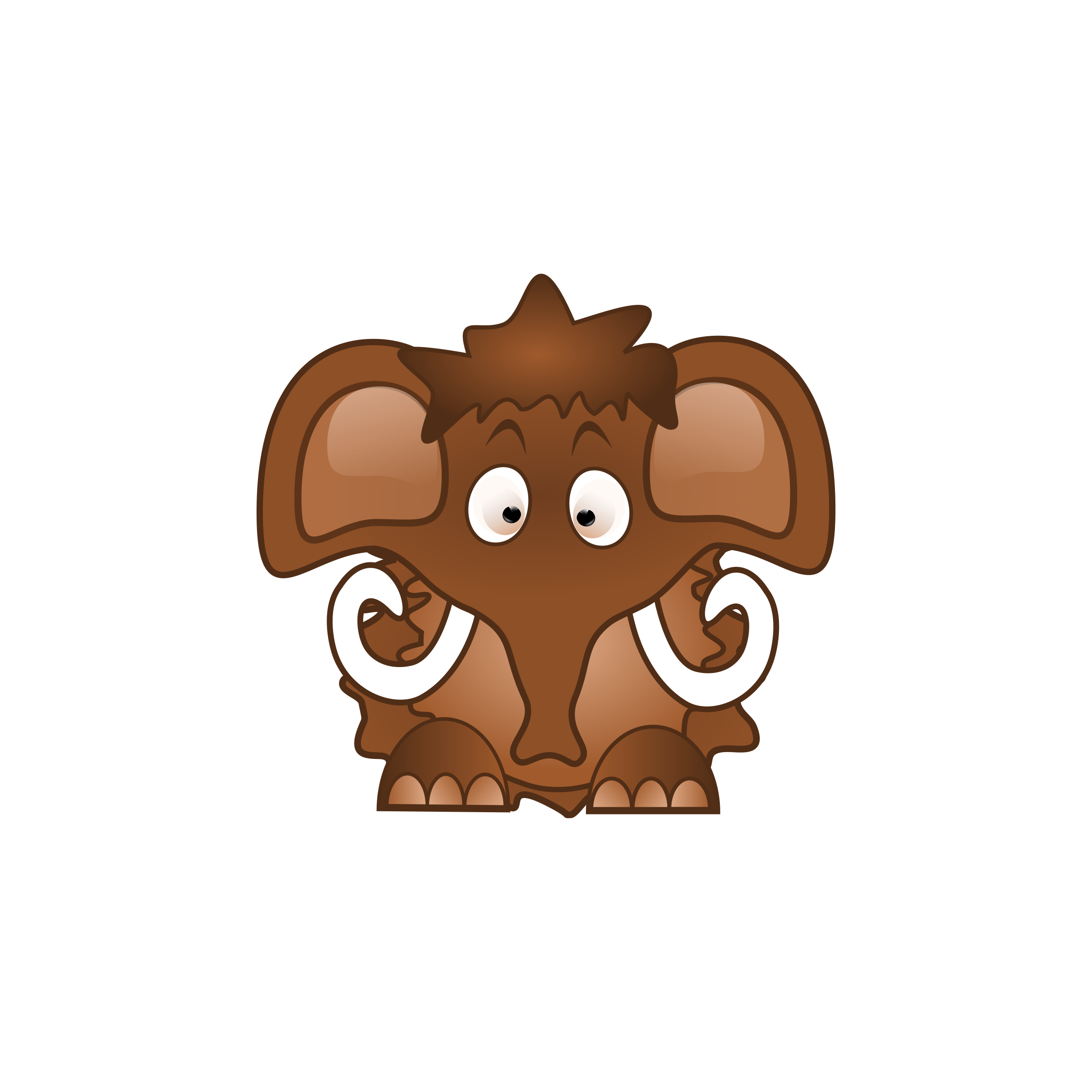 Baby Mammoth by beaver