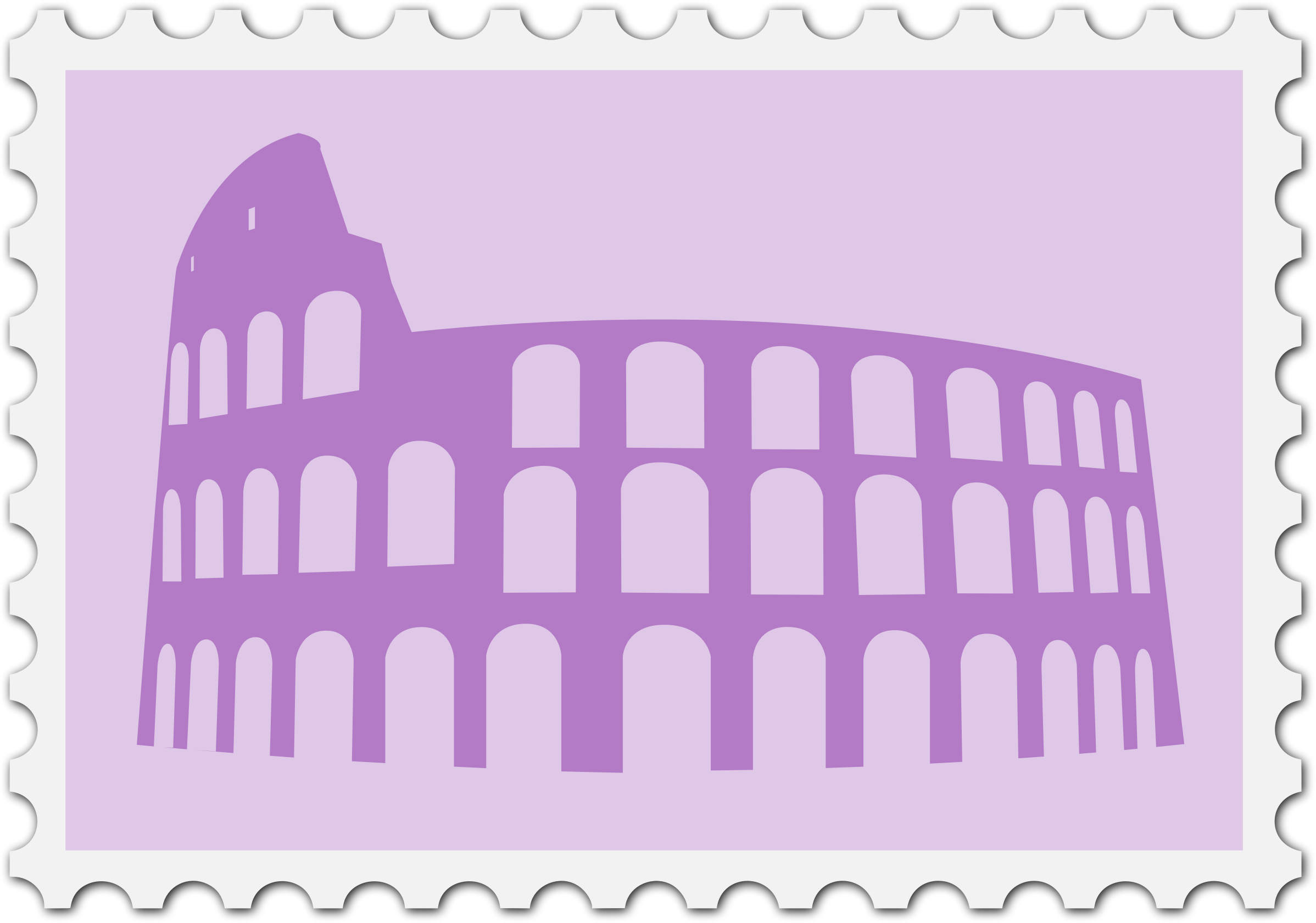 Italian stamp by Firkin