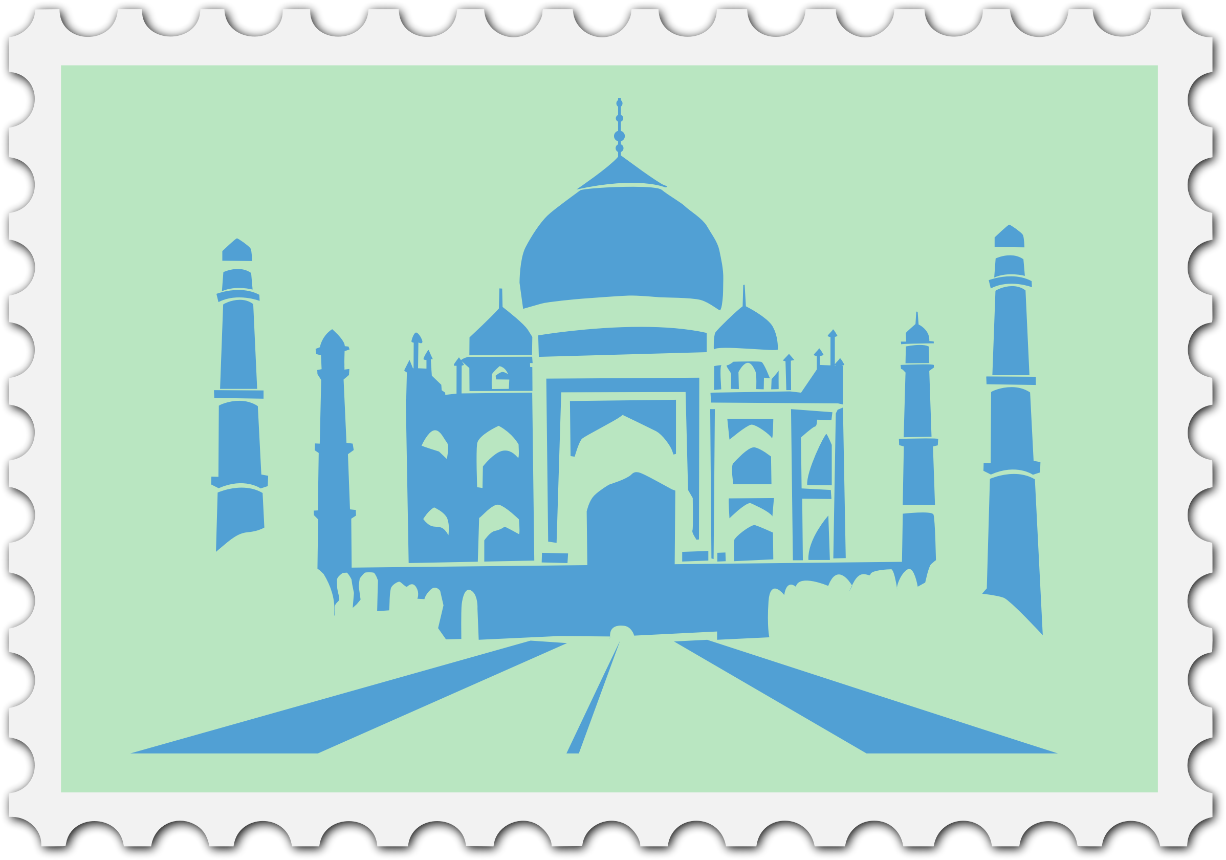 Indian stamp by Firkin