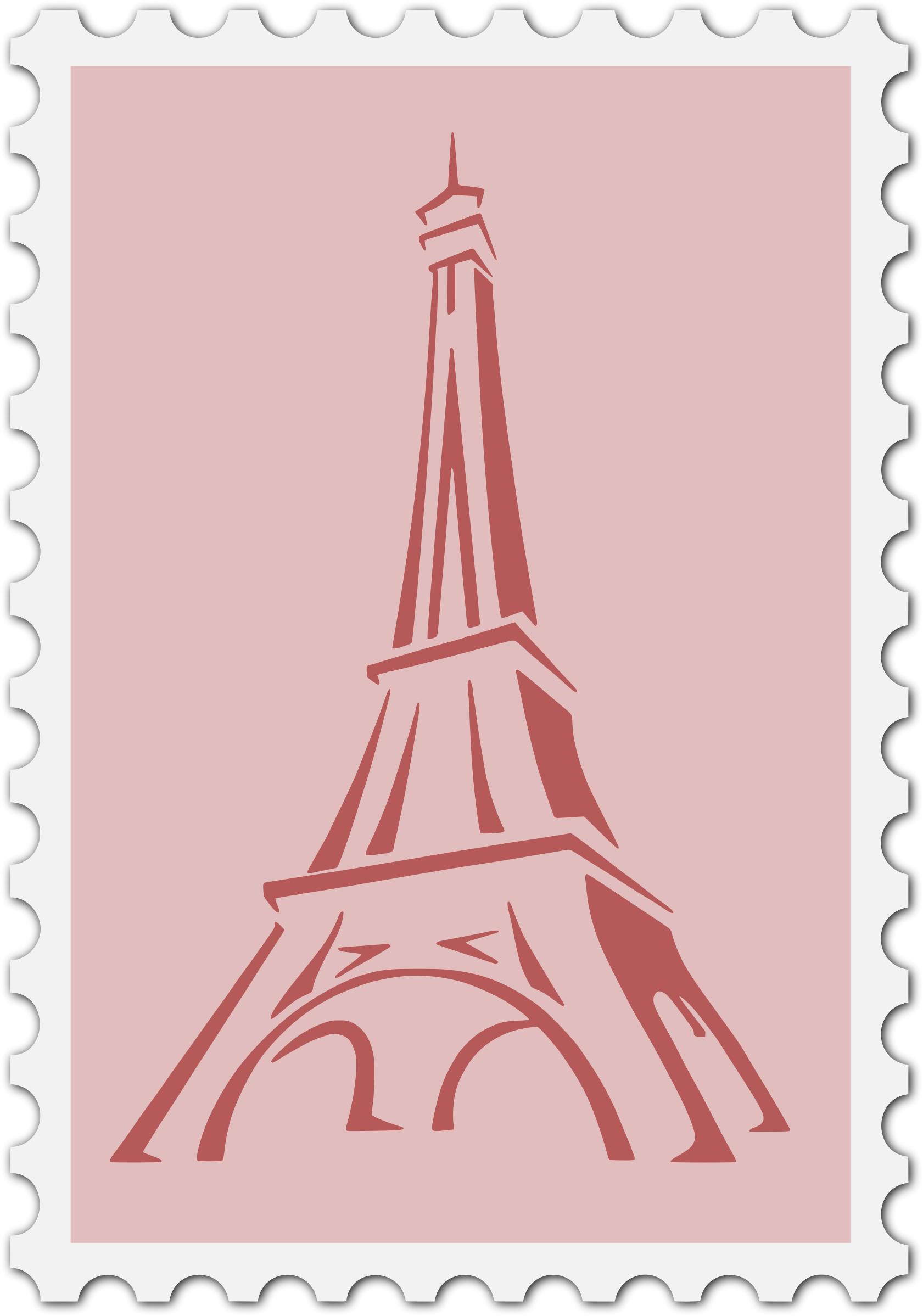 French stamp by Firkin