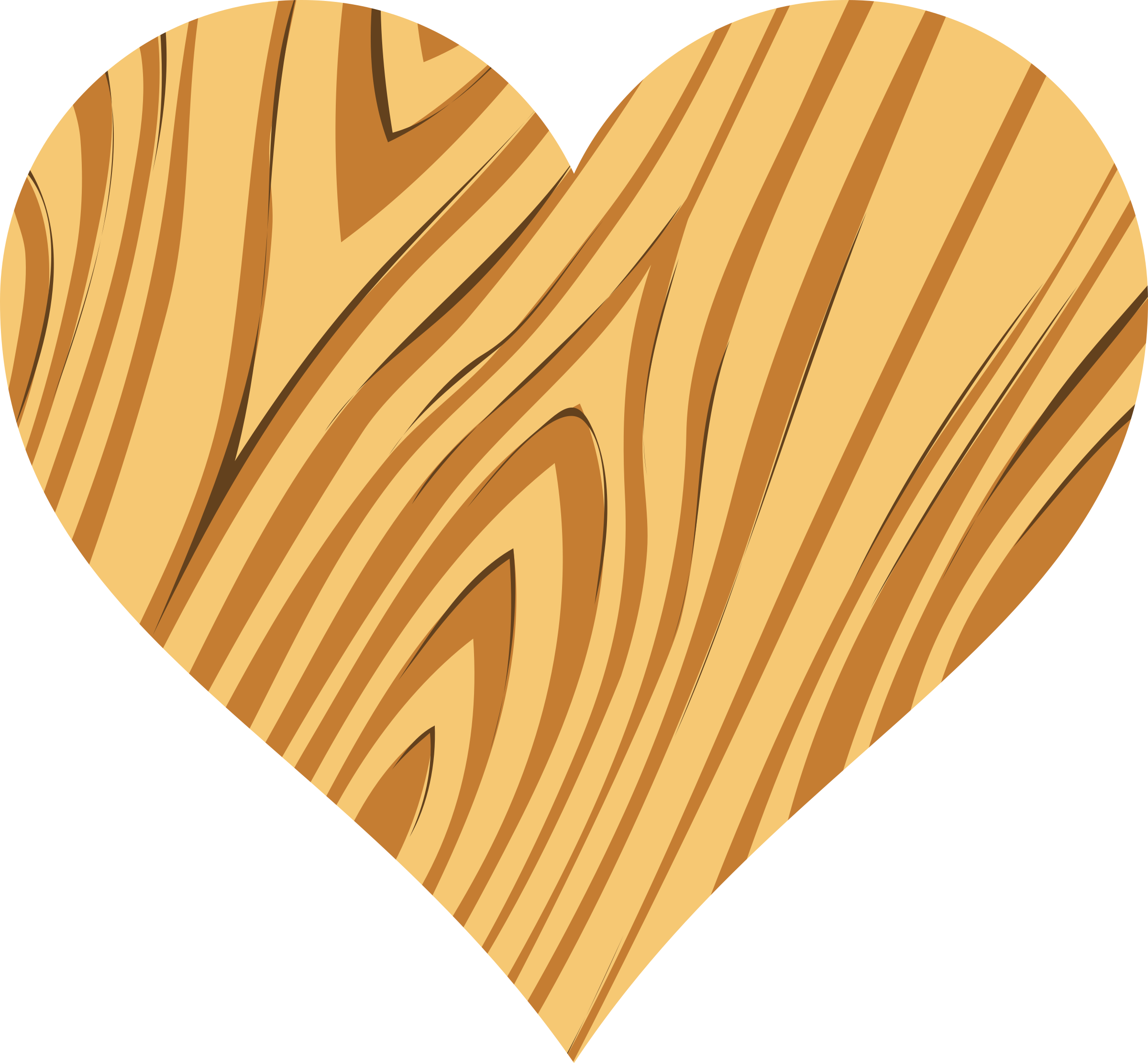 Wooden heart 2 by Firkin