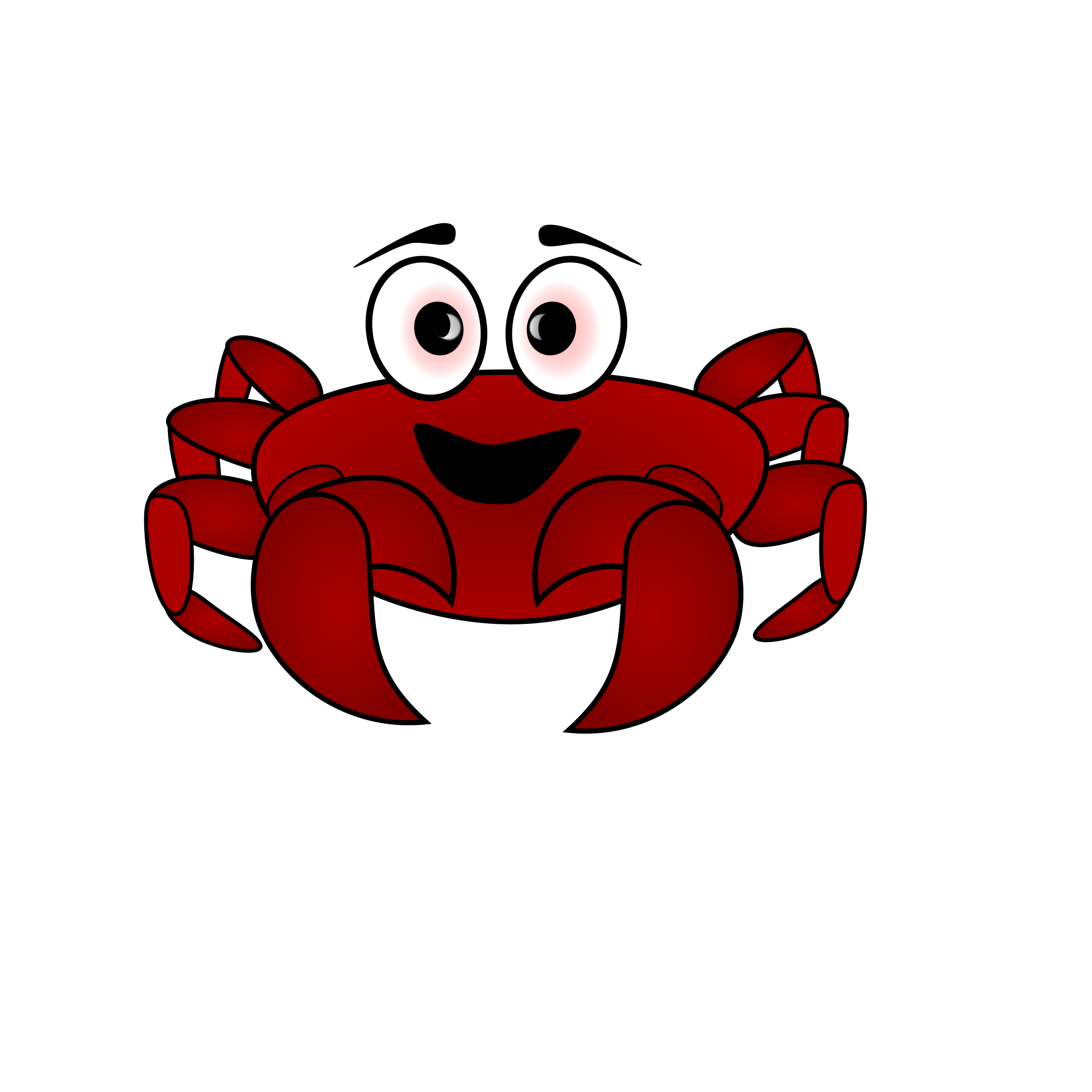 Crab Cartoon by beaver
