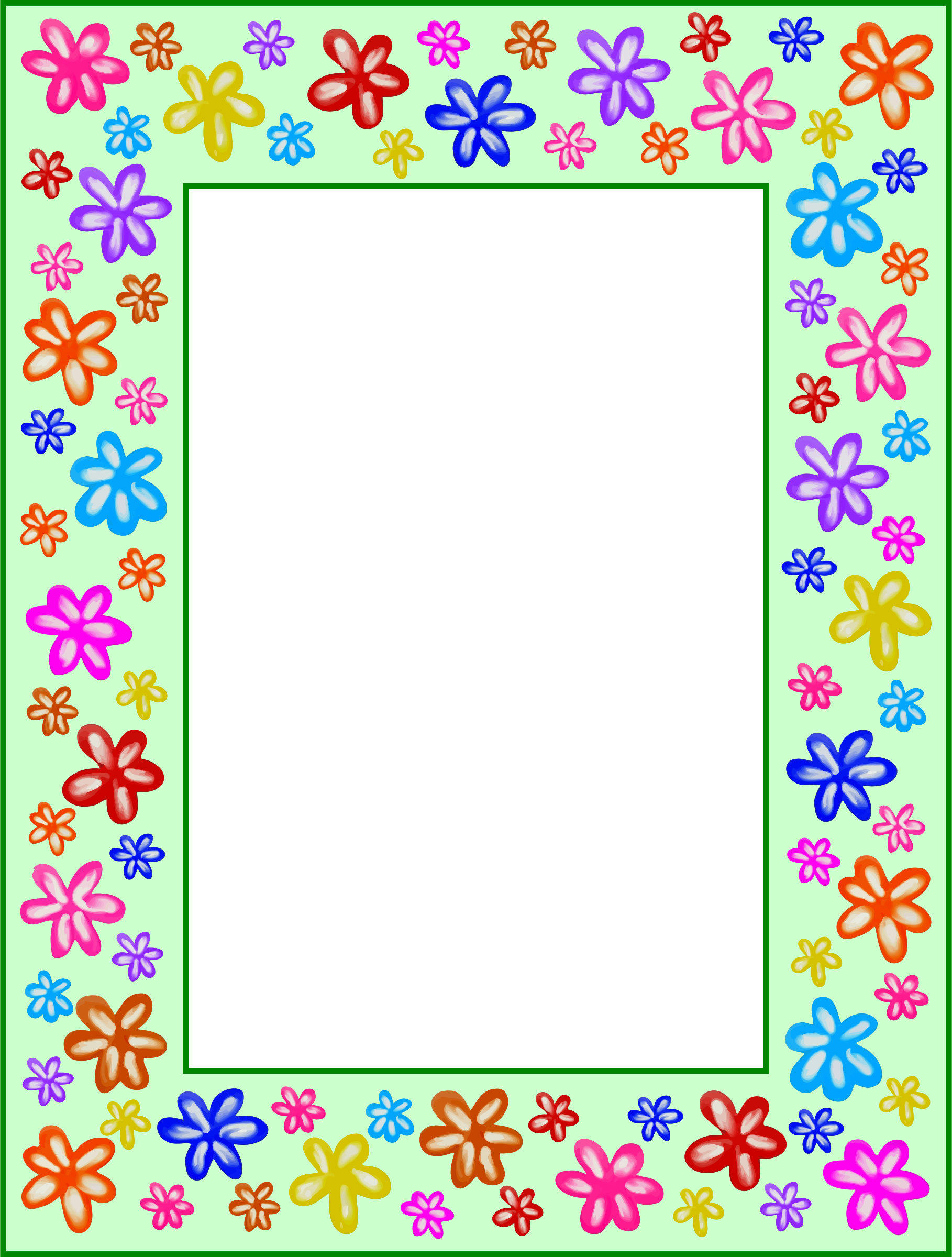 Floral frame 20 by Firkin