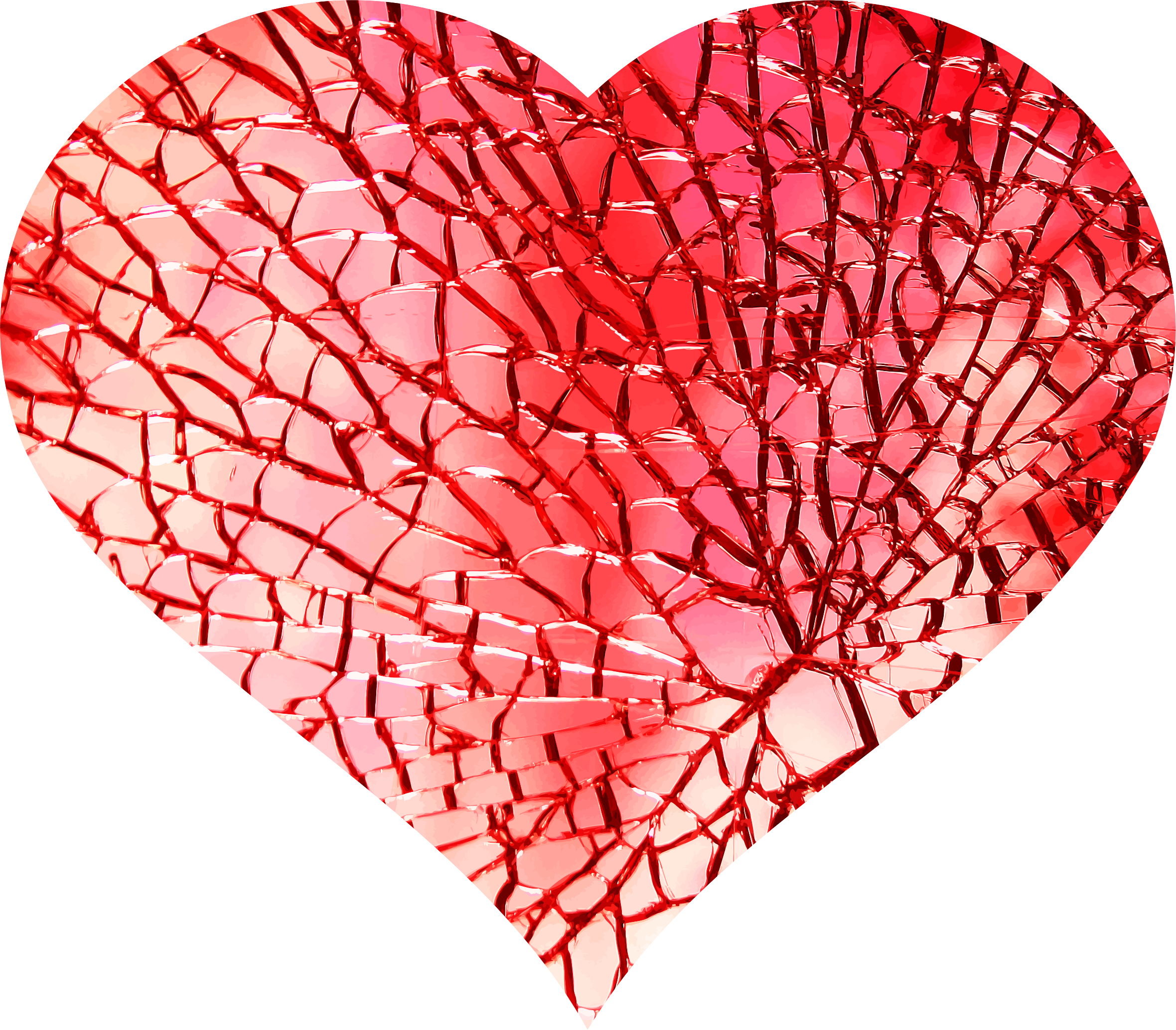 Clipart Heart Of Glass