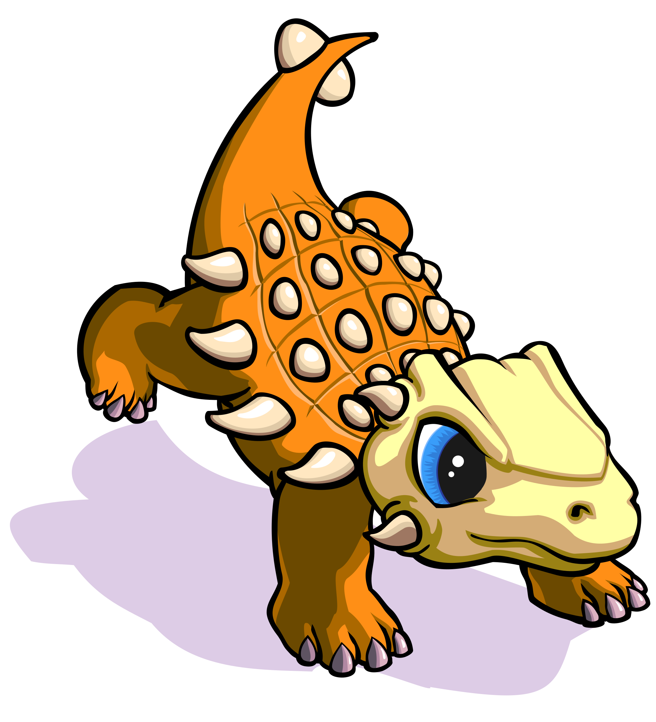 Khủng Long Giáp 2 - Ankylosaurus Baby 2 by 星球