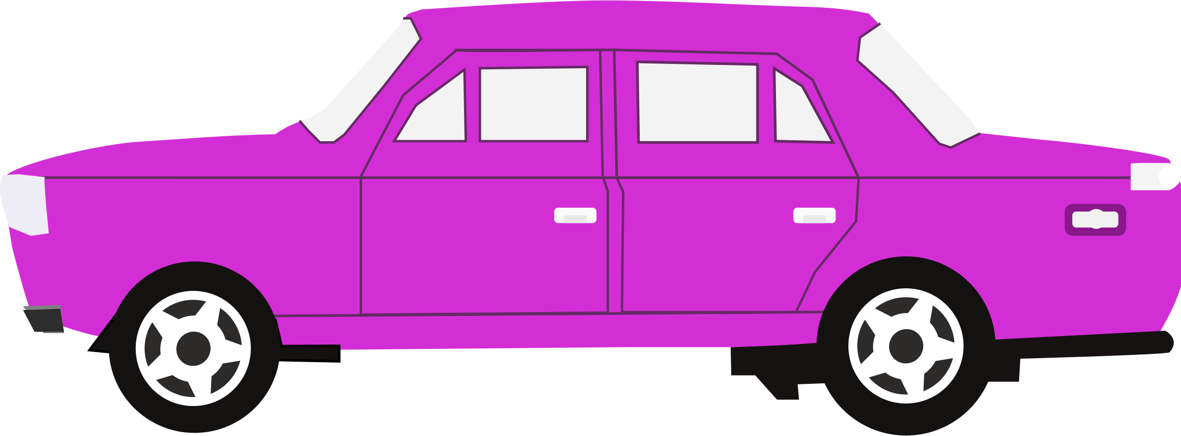 Car 16 (purple) by Firkin
