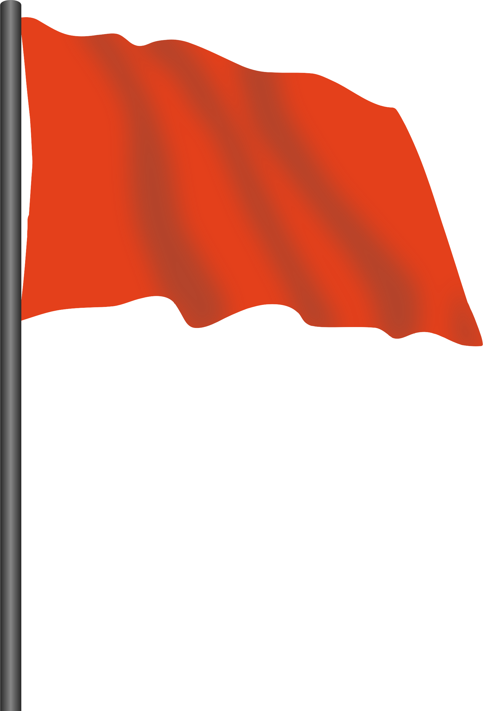 Motor racing flag 2 - red flag by Firkin