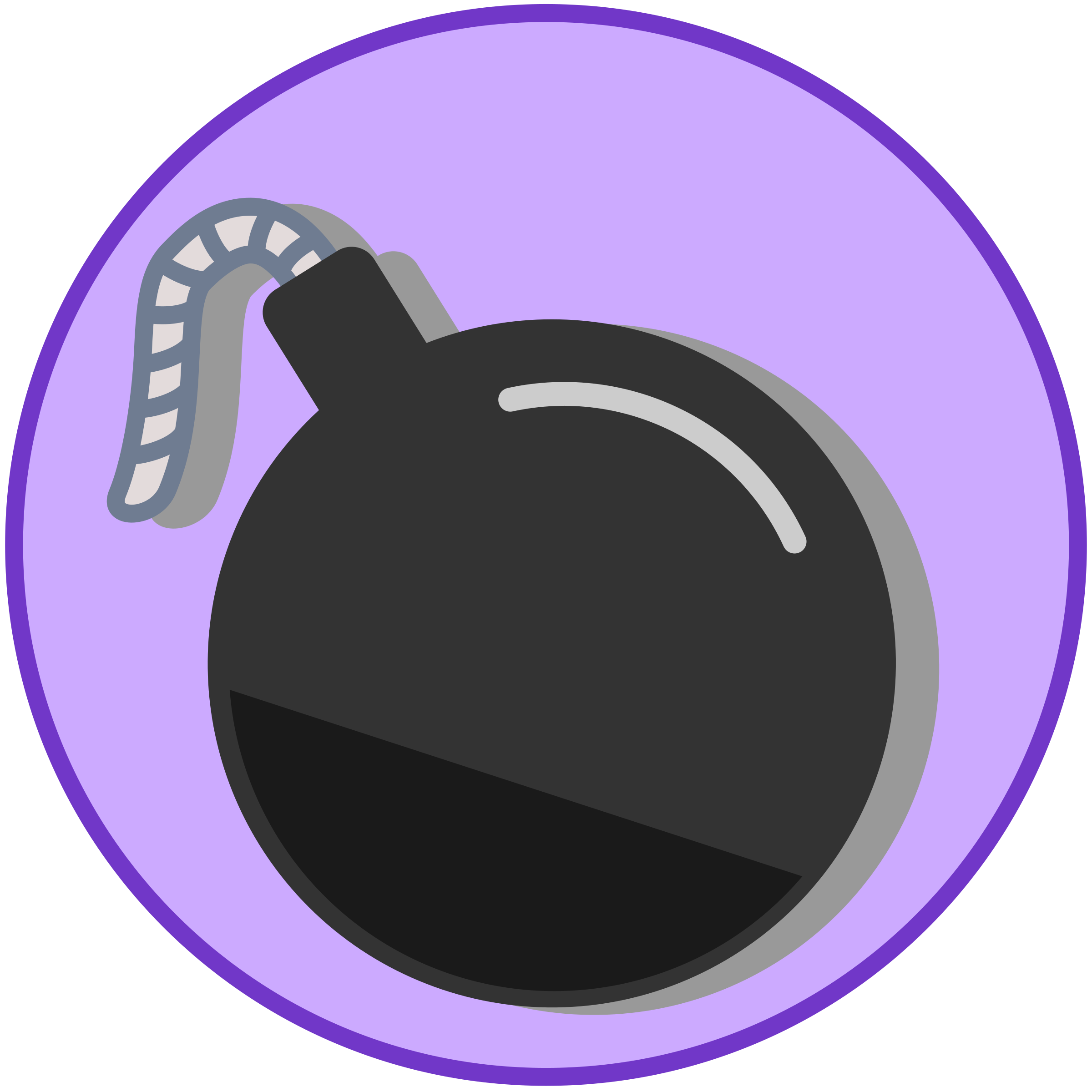 Bomb icon (Flat) by argumento