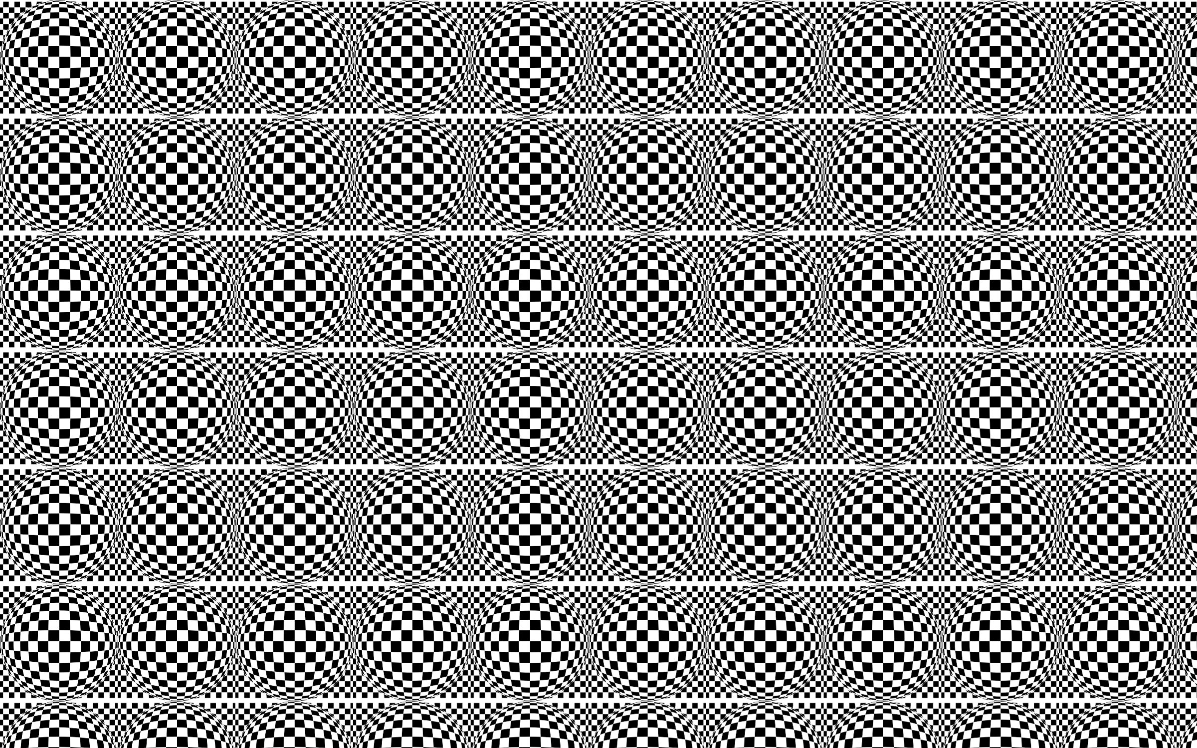 Seamless Distorted Checkerboard Pattern by GDJ