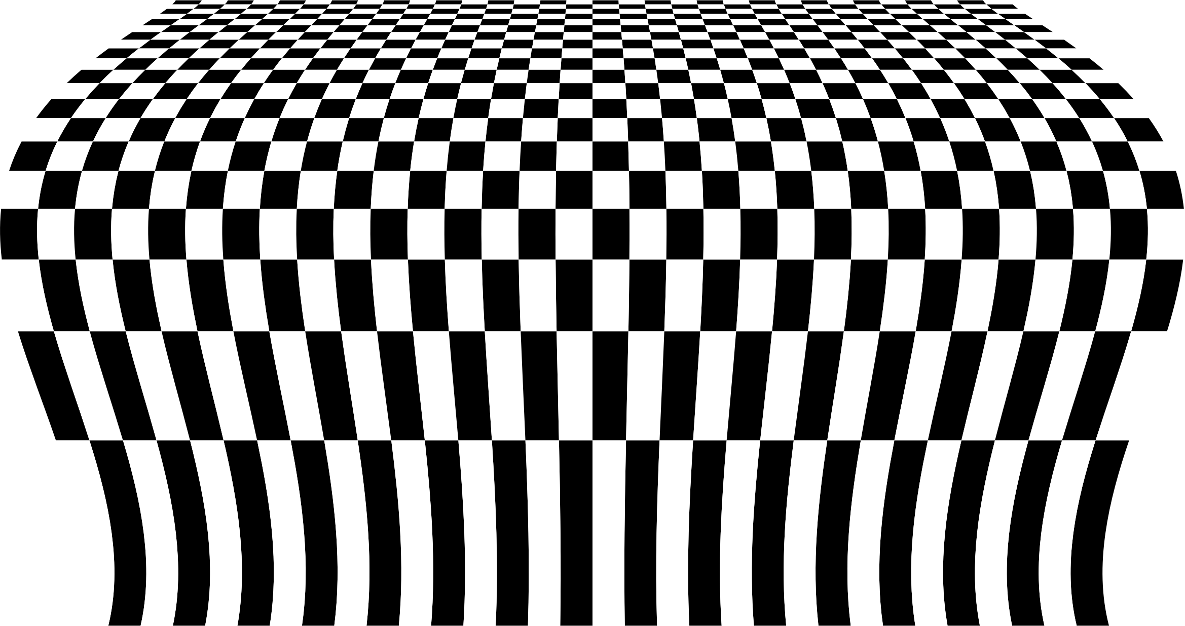 Checkerboard Perspective 2 by GDJ