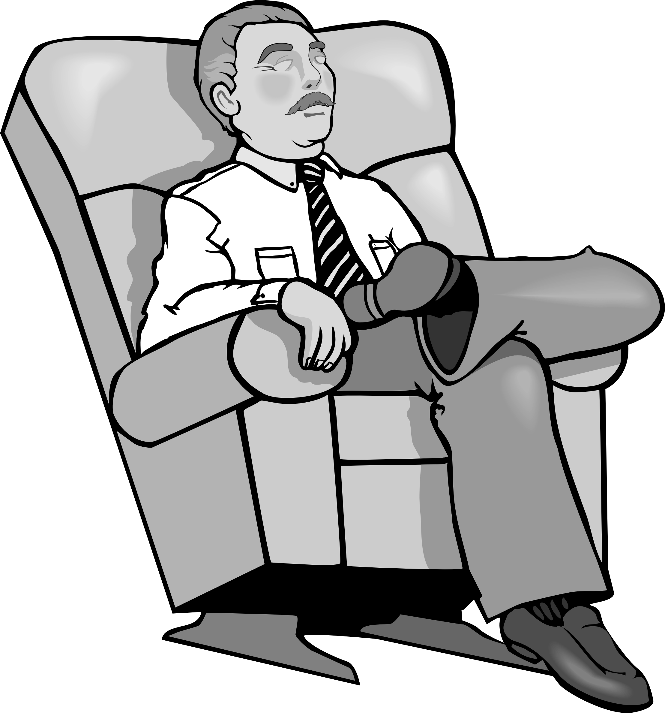 Sit Back And Relax Clipart