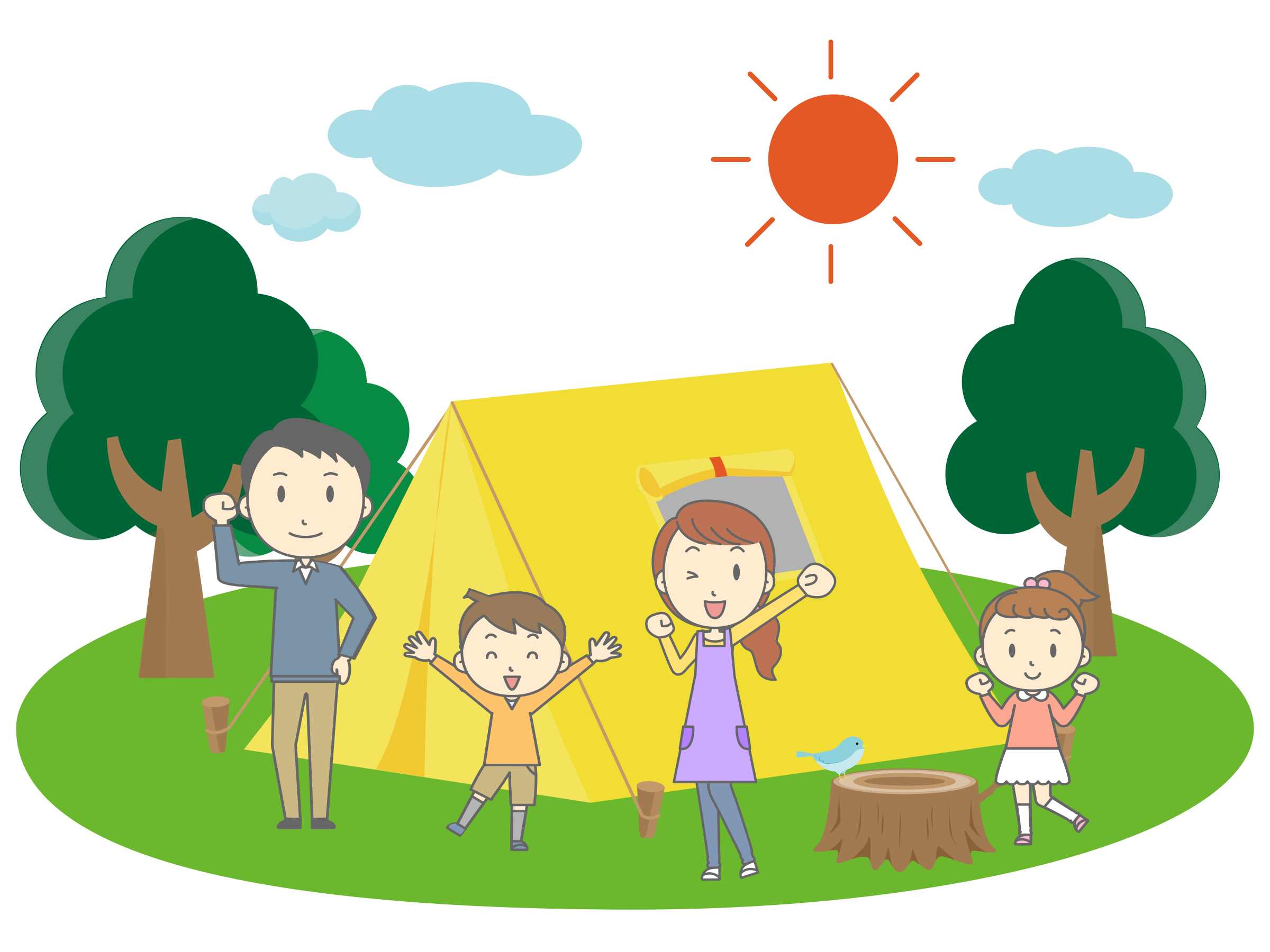 Family Camping by j4p4n