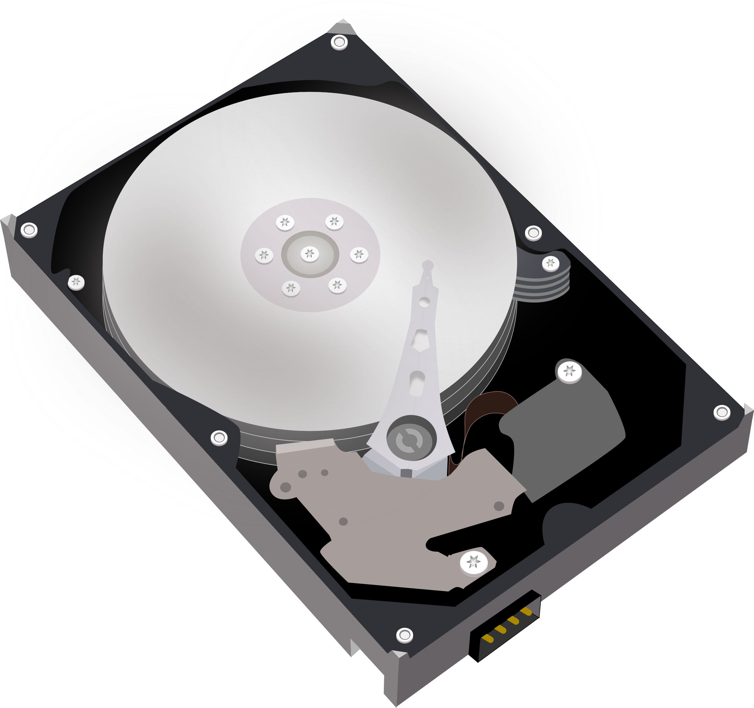 Hard disk Harddisk HDD by sagar_ns