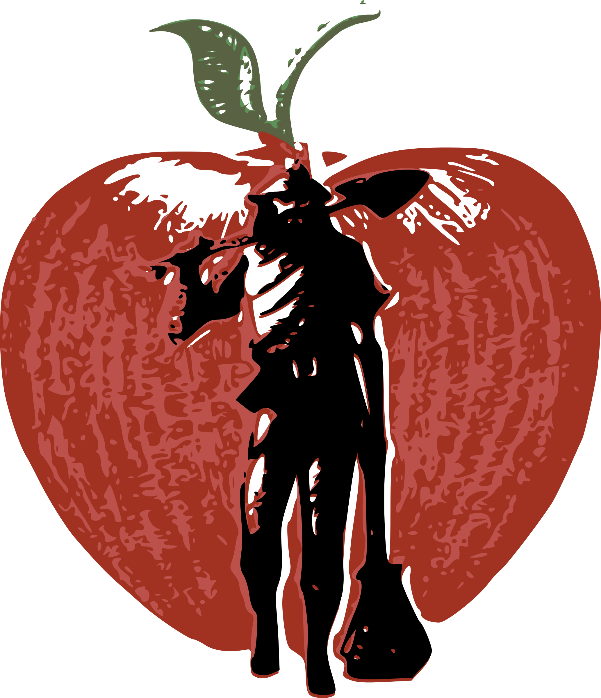 clipart johnny appleseed rh openclipart org Johnny Appleseed Story Online Interactive johnny appleseed clipart black and white