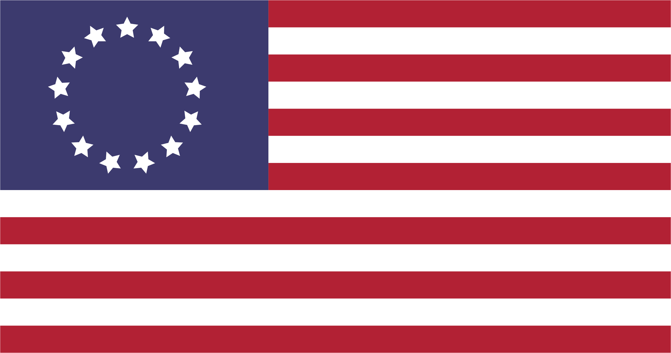 Betsy Ross US Flag by GDJ
