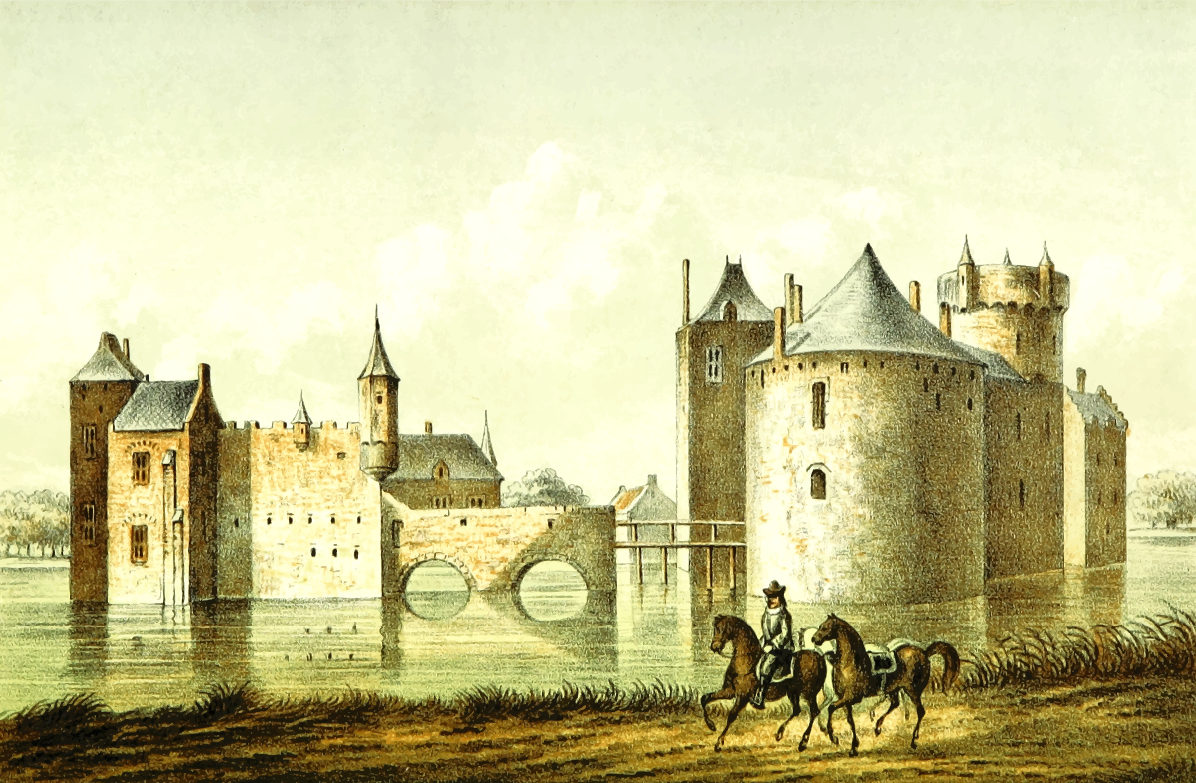 Culemborg Castle by Firkin