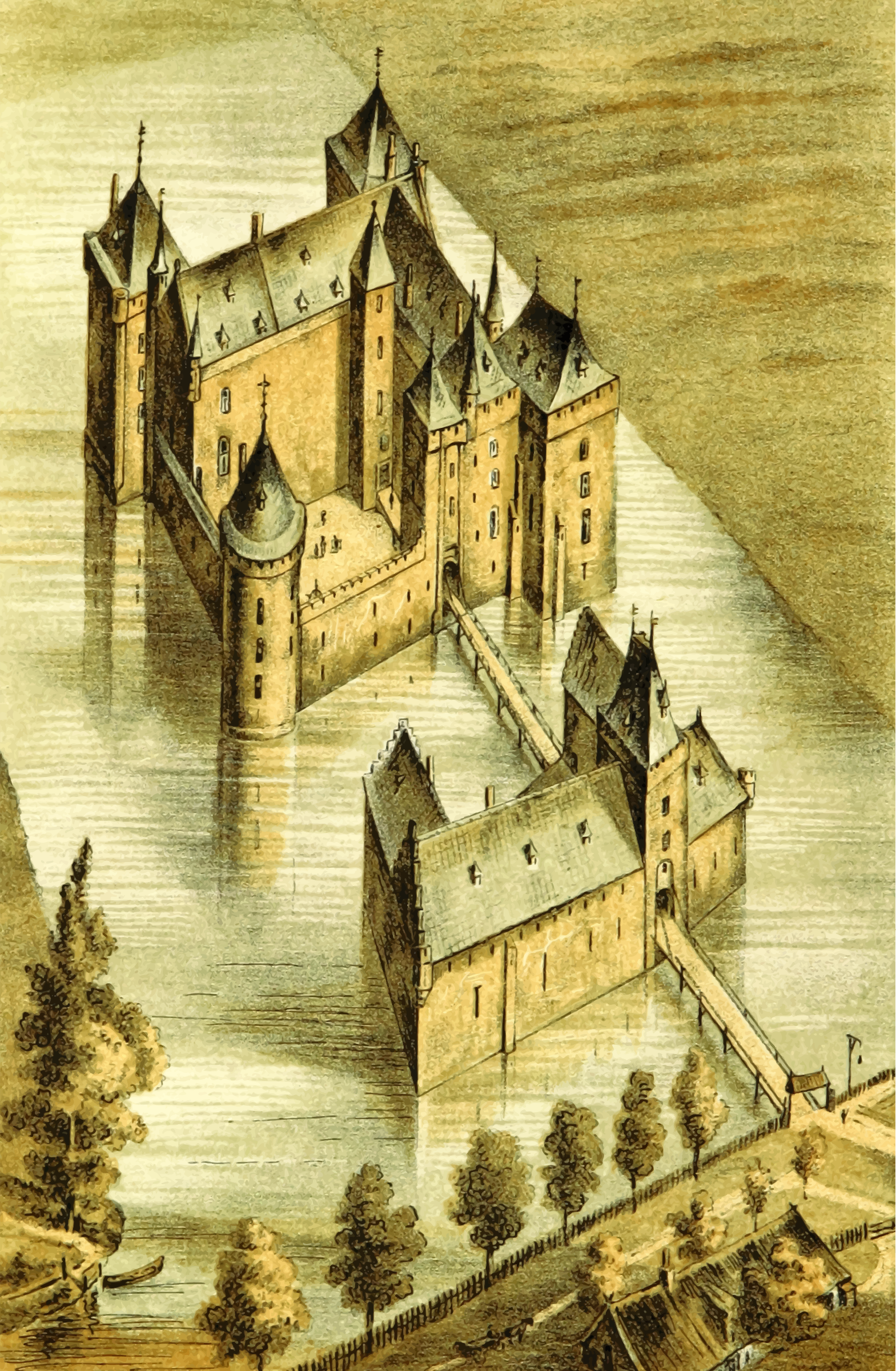 Brederode Castle by Firkin