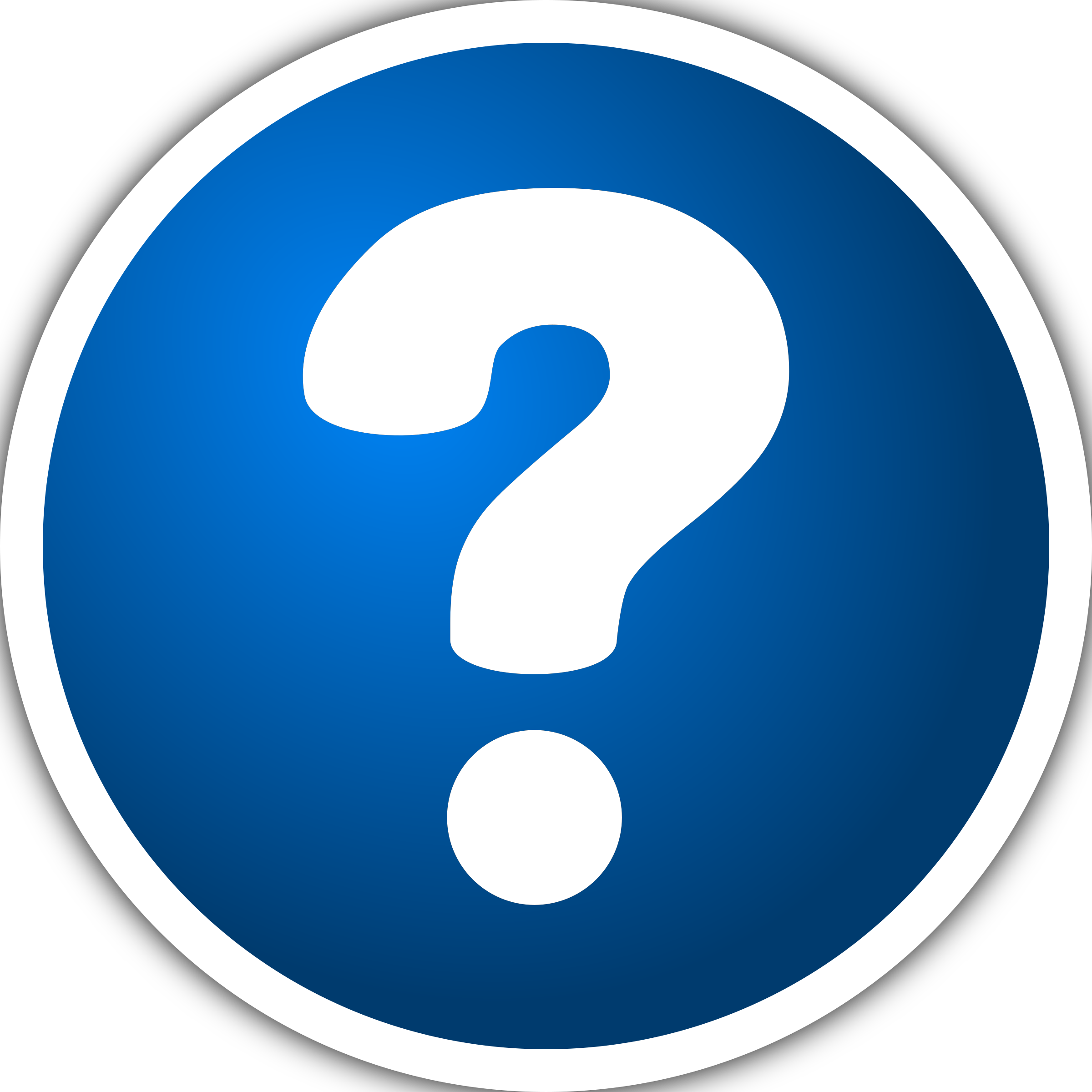 Icon with question mark by purzen