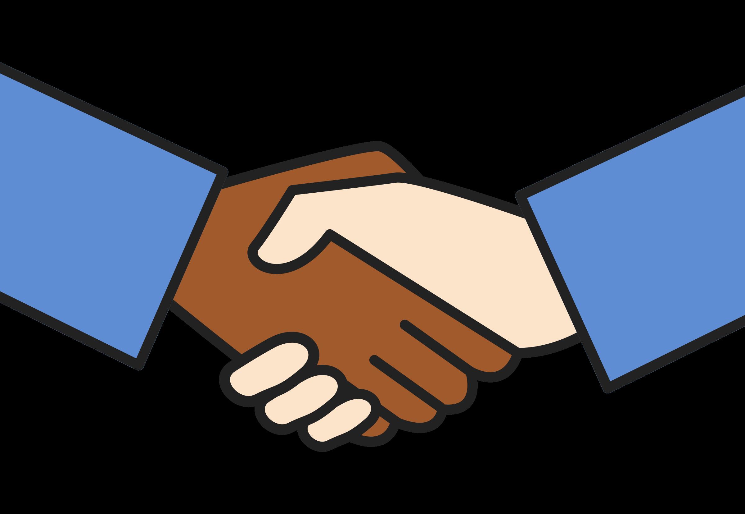 clipart handshake worker unite rh openclipart org handshake clipart transparent handshake clip art images