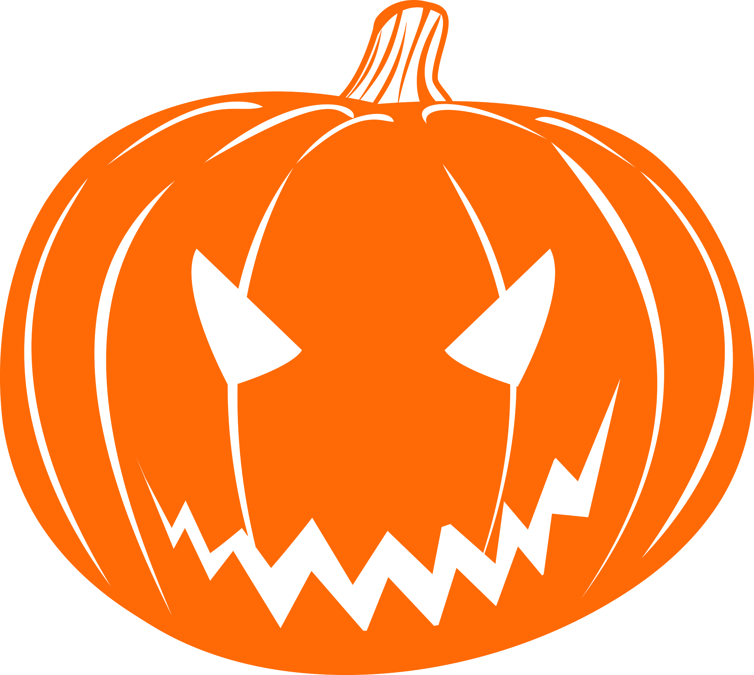 clipart scary jack o lantern rh openclipart org jack o'lantern clipart black and white jack o'lantern clipart black and white