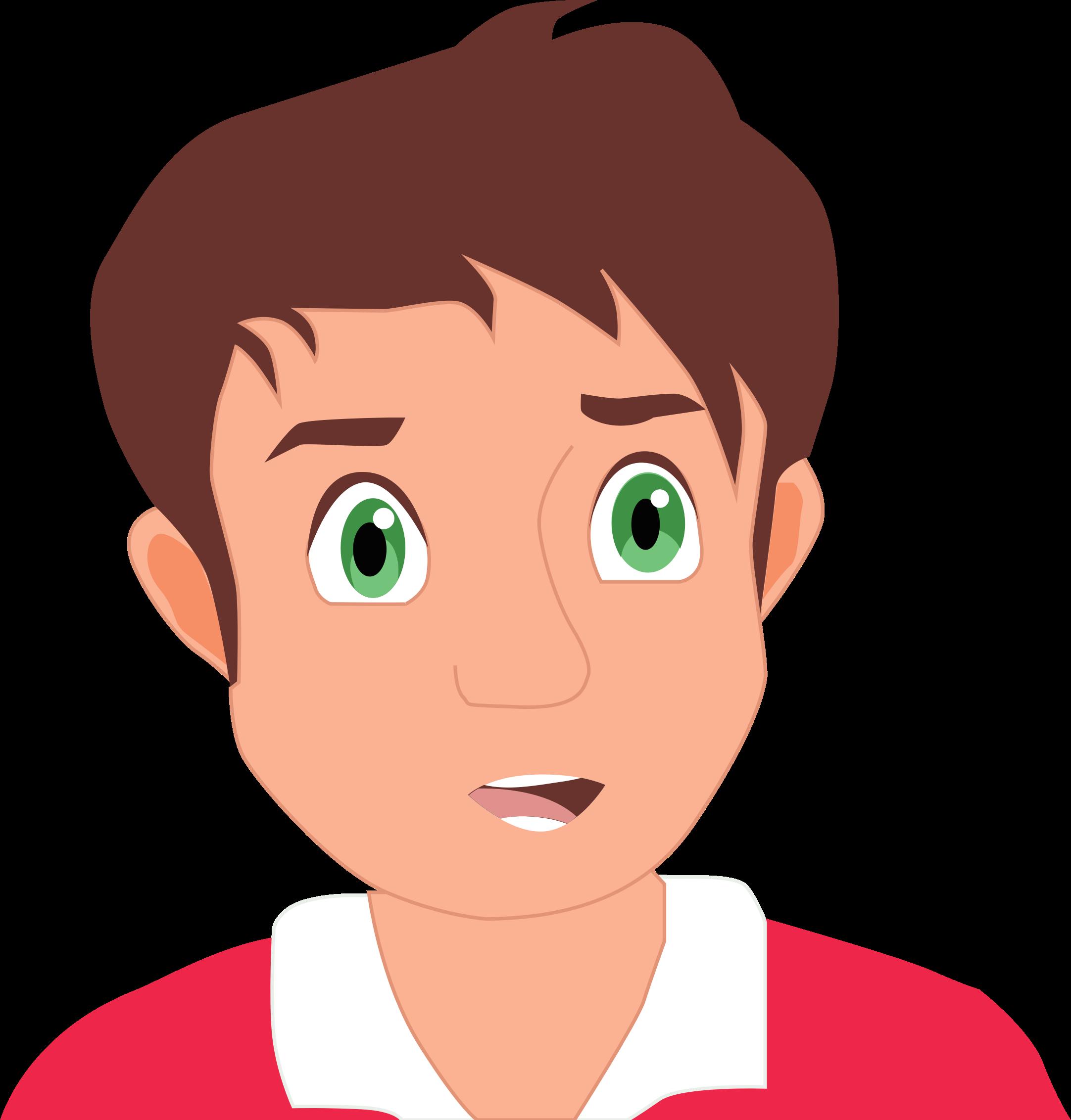 Clipart Cartoon Boy