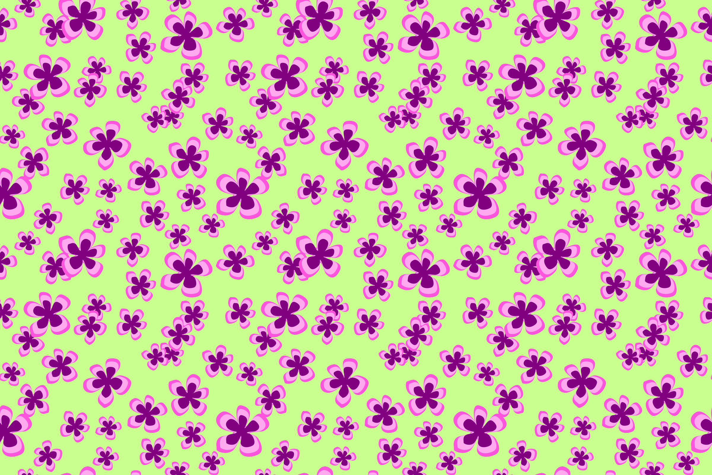Floral pattern 7 by Firkin