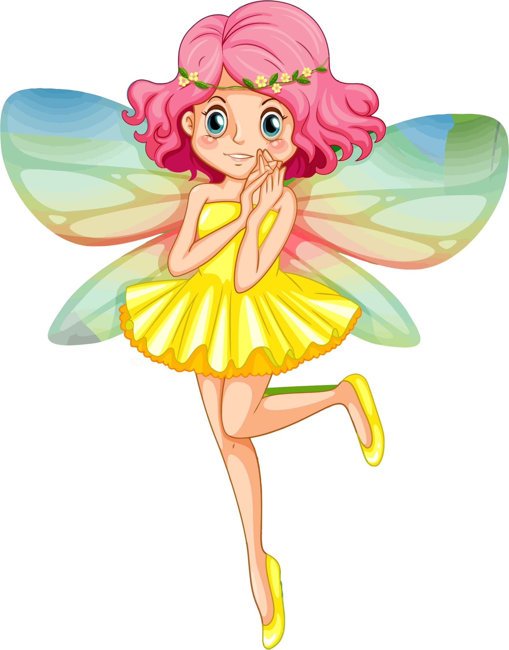 Colorful Fairy by GDJ