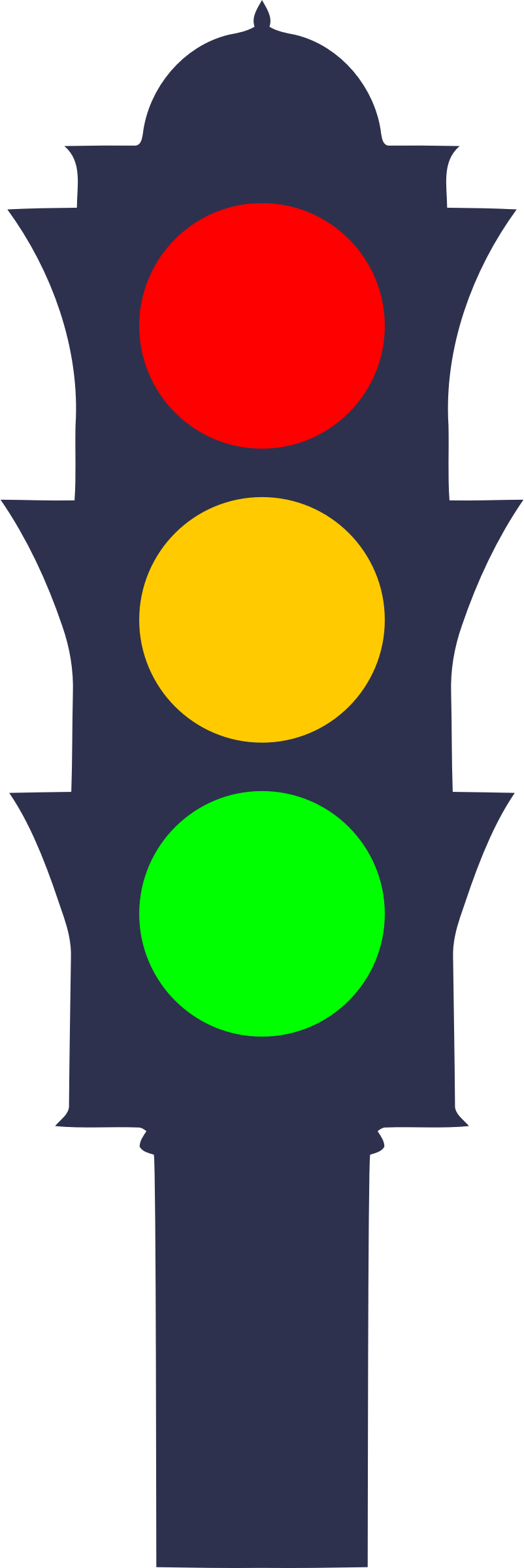 Traffic light by Firkin
