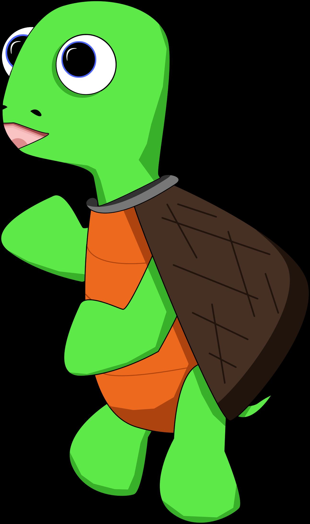 Clipart  Cartoon Turtle 2