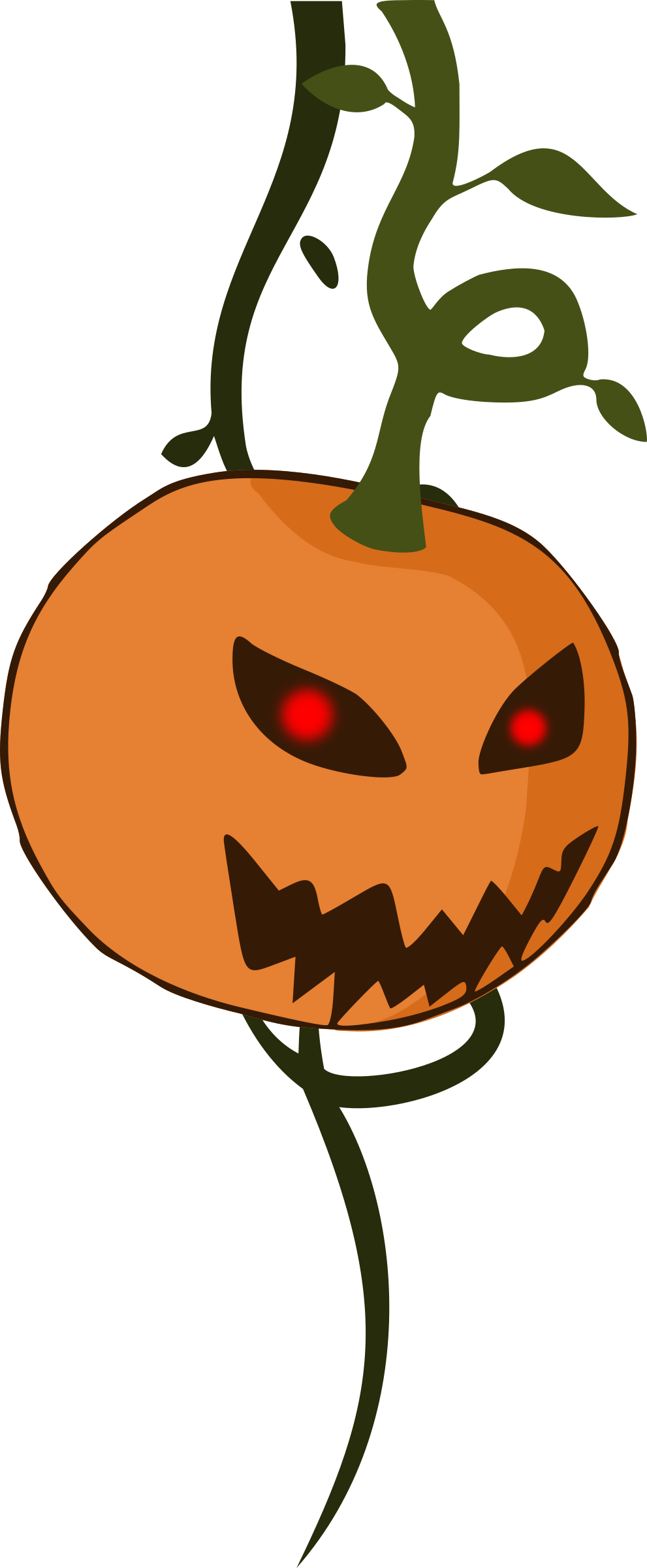 Cartoon jack-o'-lantern pumpkin by purzen