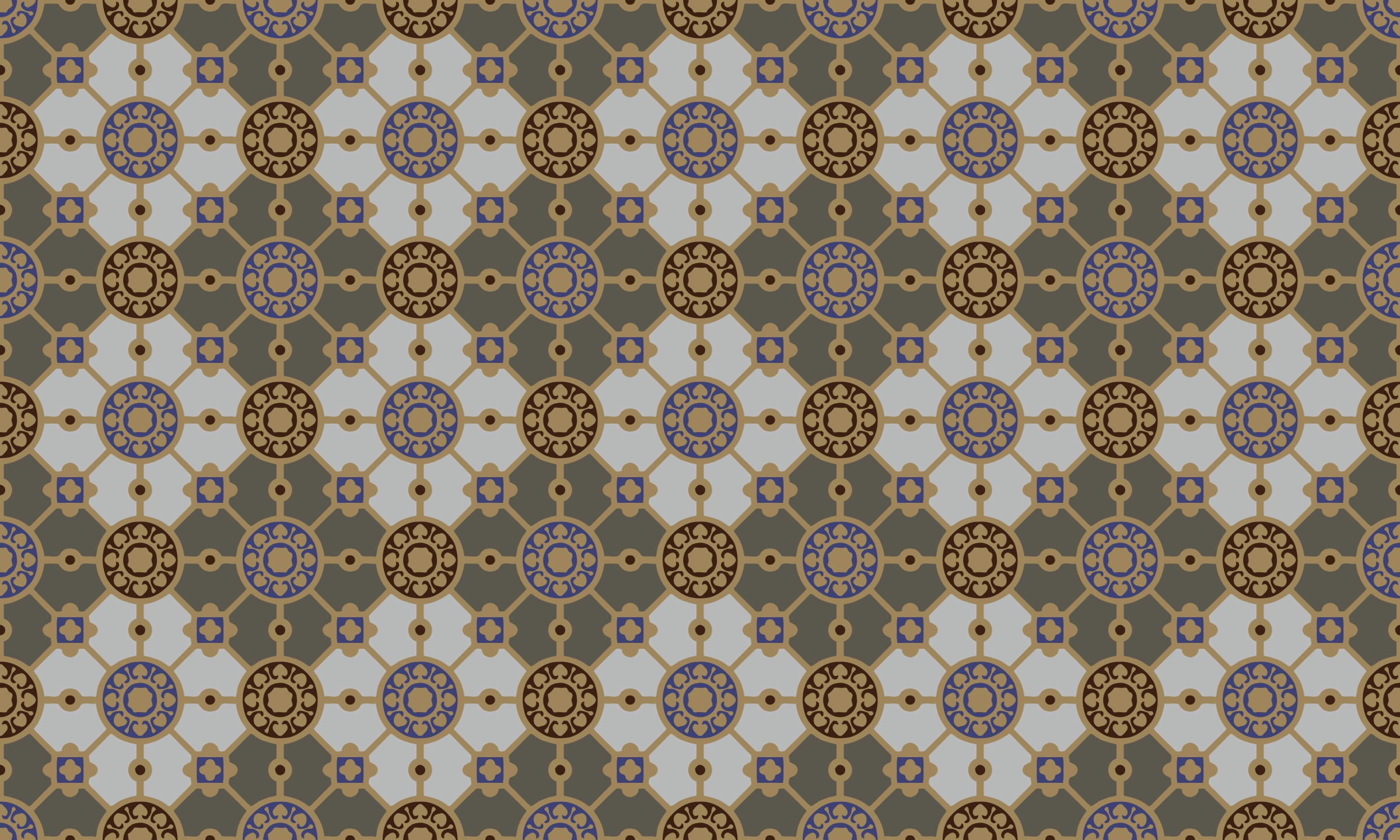 Vintage tile background by Firkin