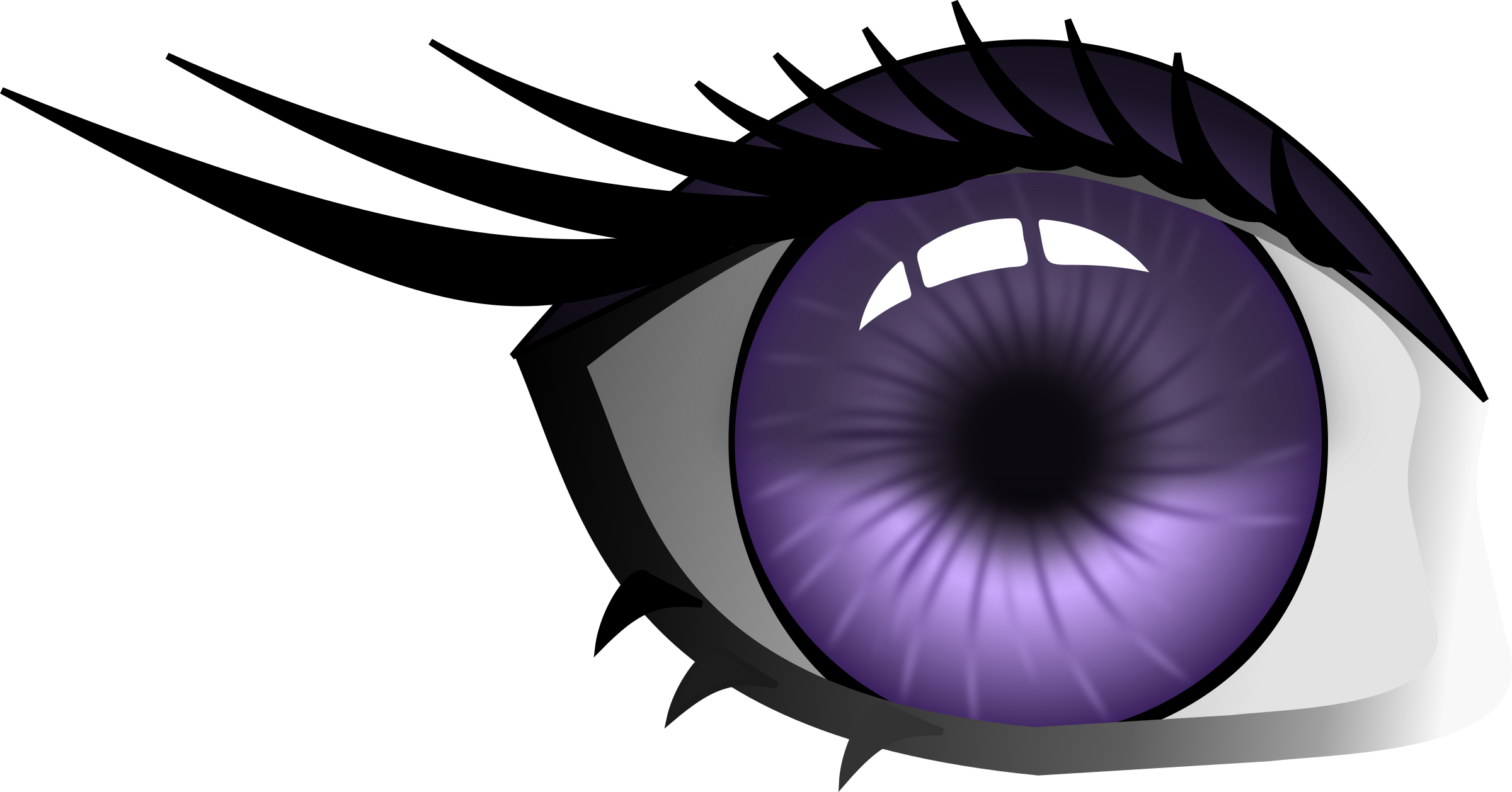Purple Eye by davidsensenig