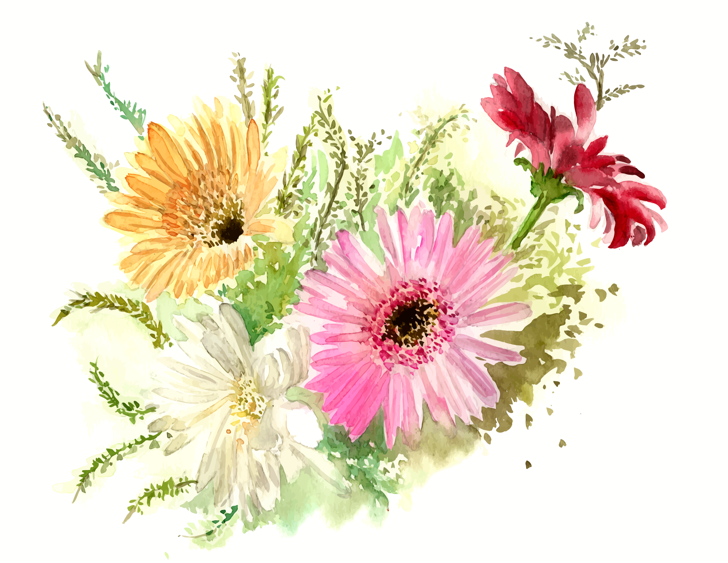 cristieleung's Flowers vectorised by Firkin
