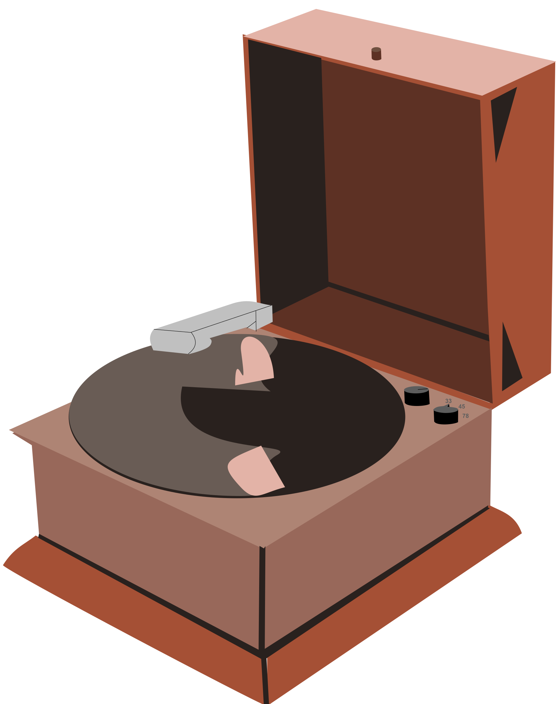 Phonograph Player by Rfc1394