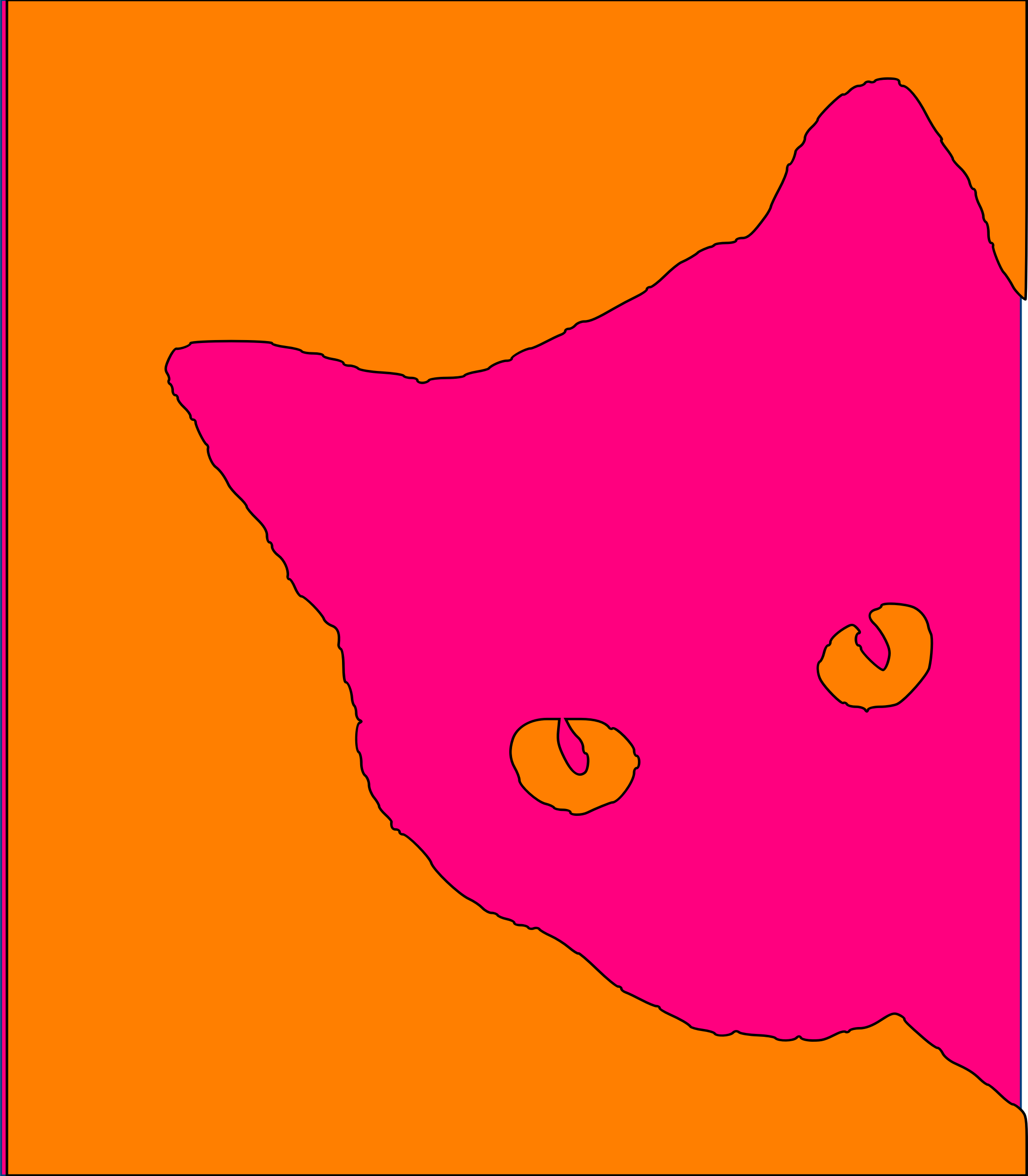 Cat remix vivid pink by BLASTFEMI