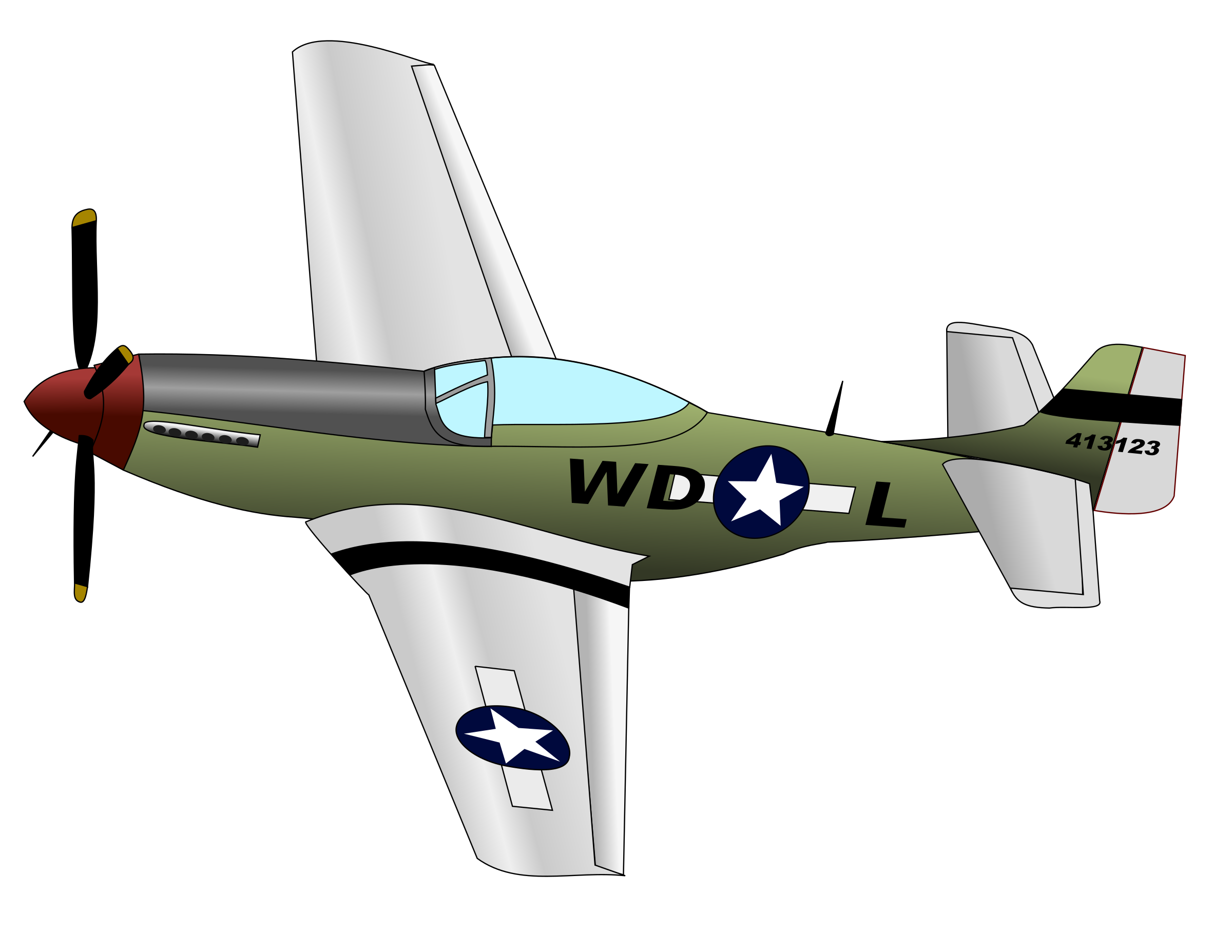 P51 Mustang by permafrost91