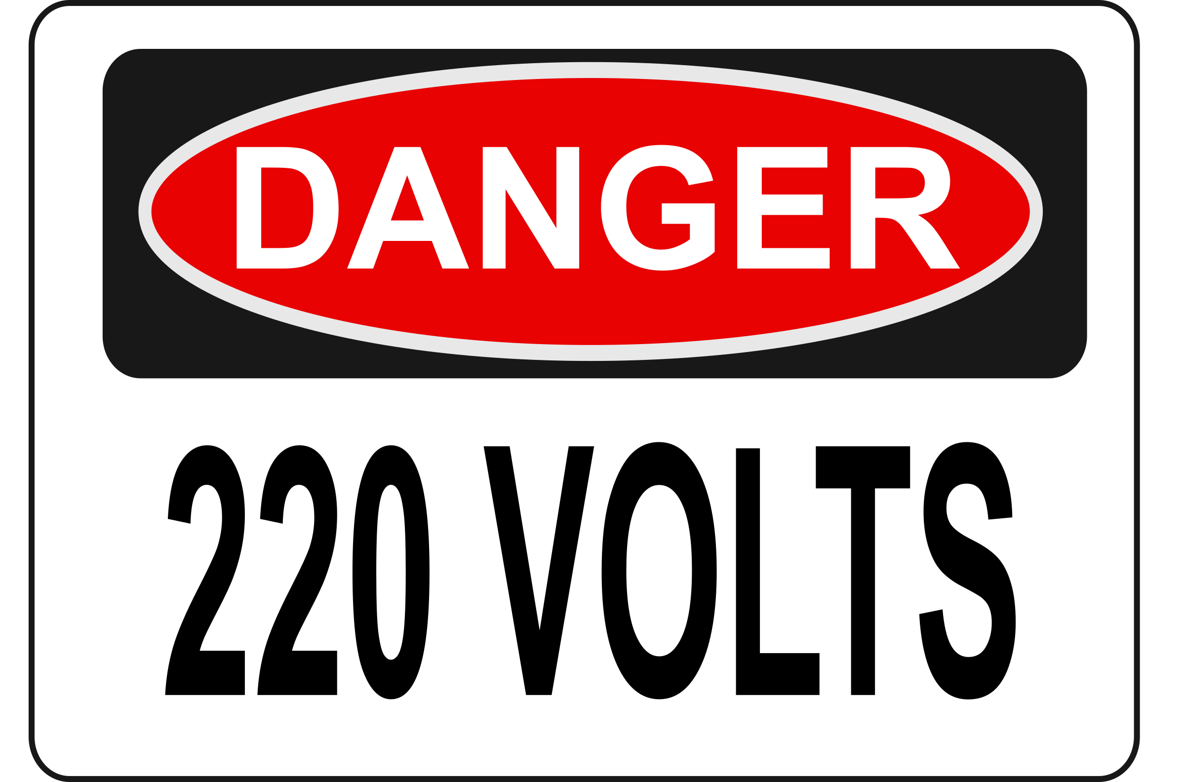 Danger - 220 Volts by Rfc1394