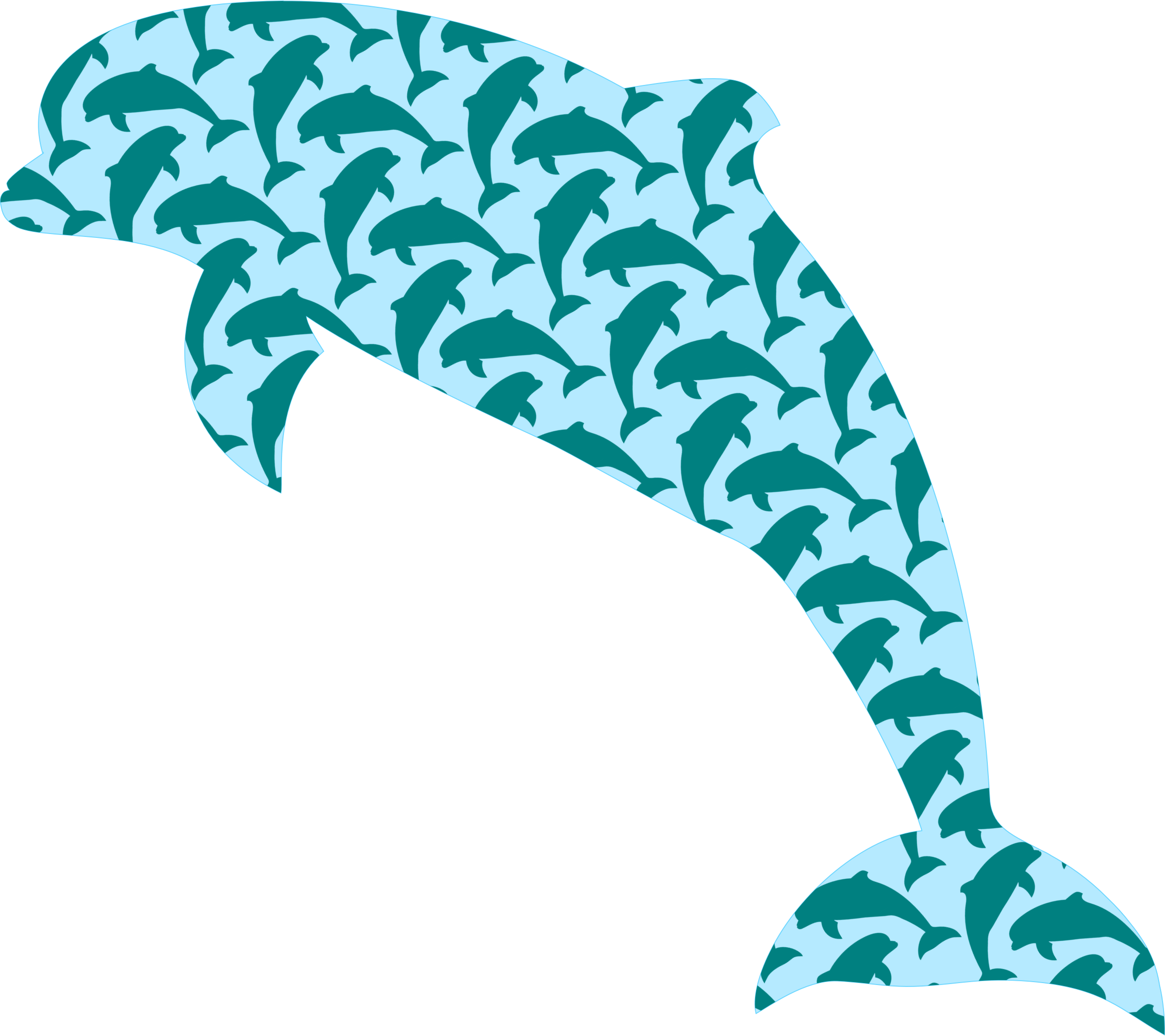 Dolphin pattern by Firkin