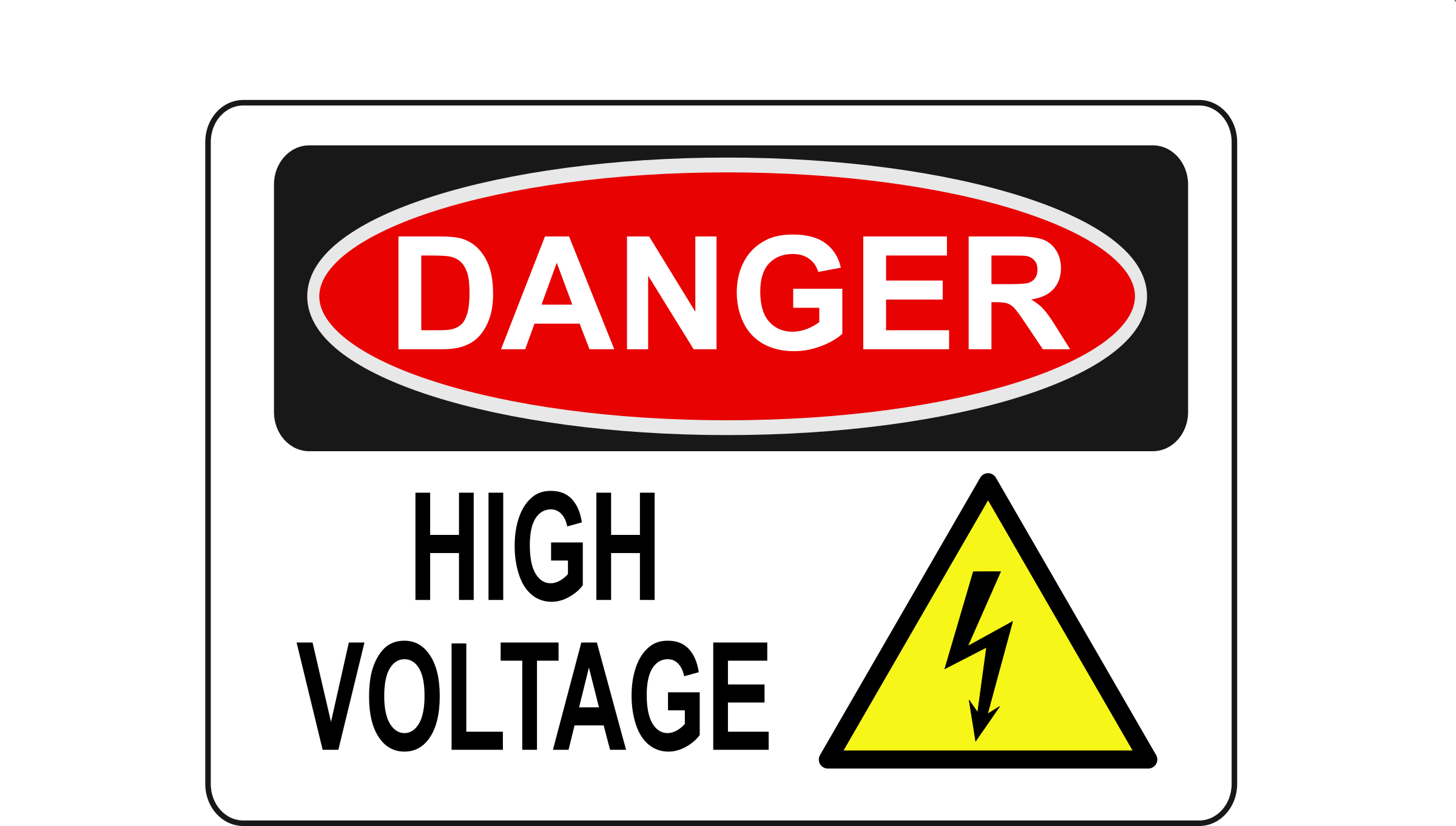 Danger - High Voltage (Alt 1) by Rfc1394