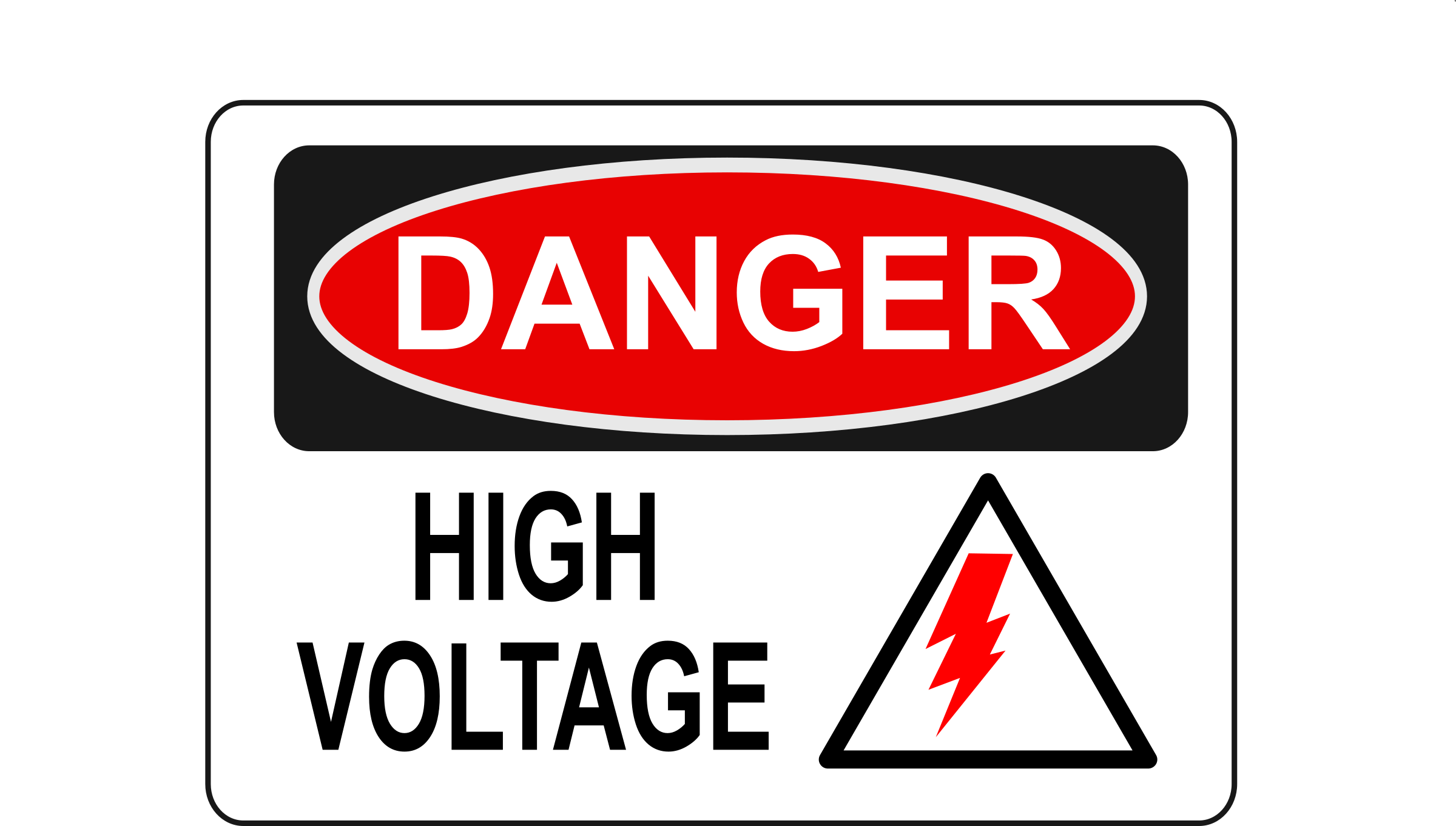 Danger - High Voltage (Alt 2) by Rfc1394