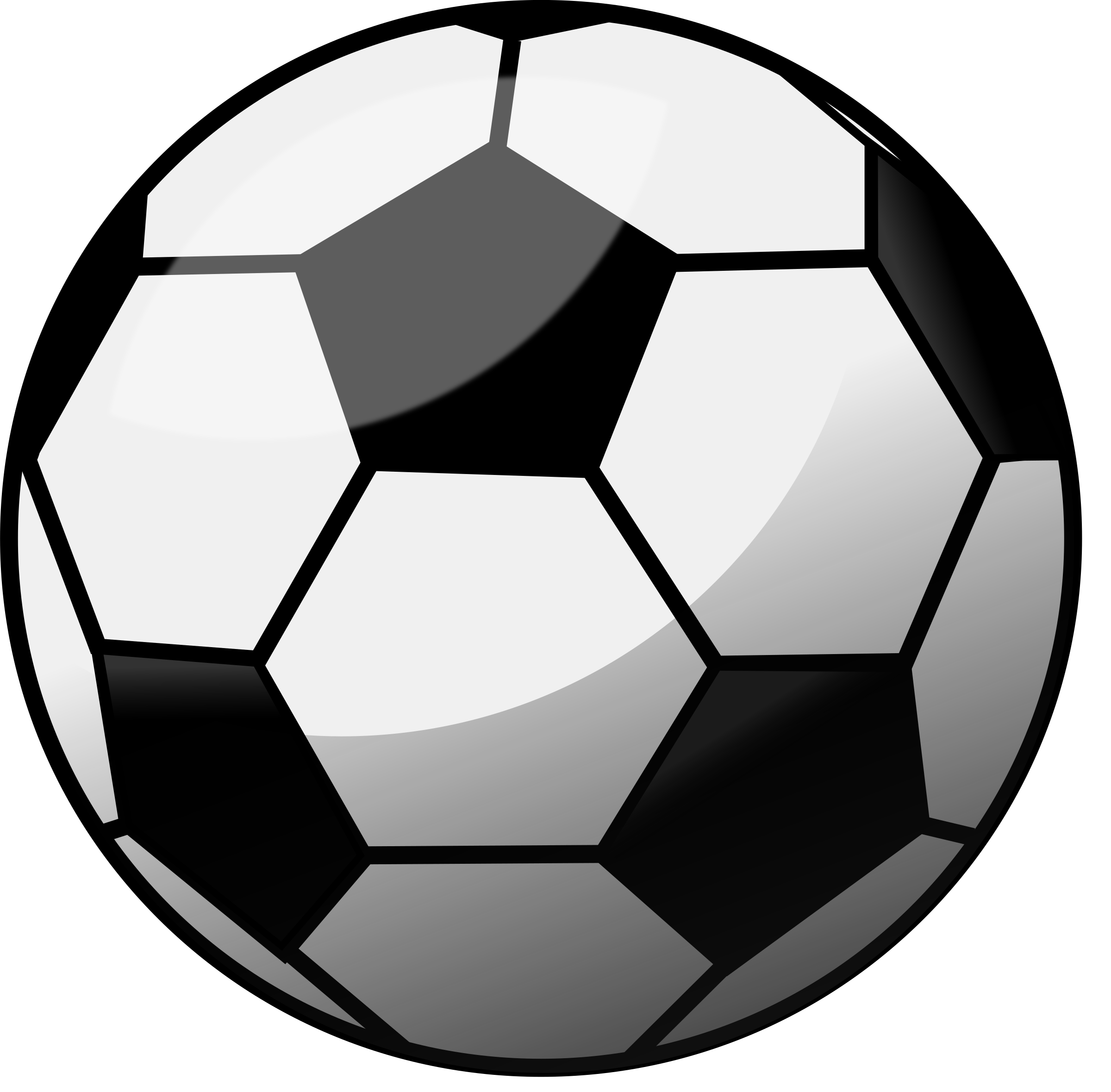 Glossy Football Soccer Ball remix by monsterbraingames