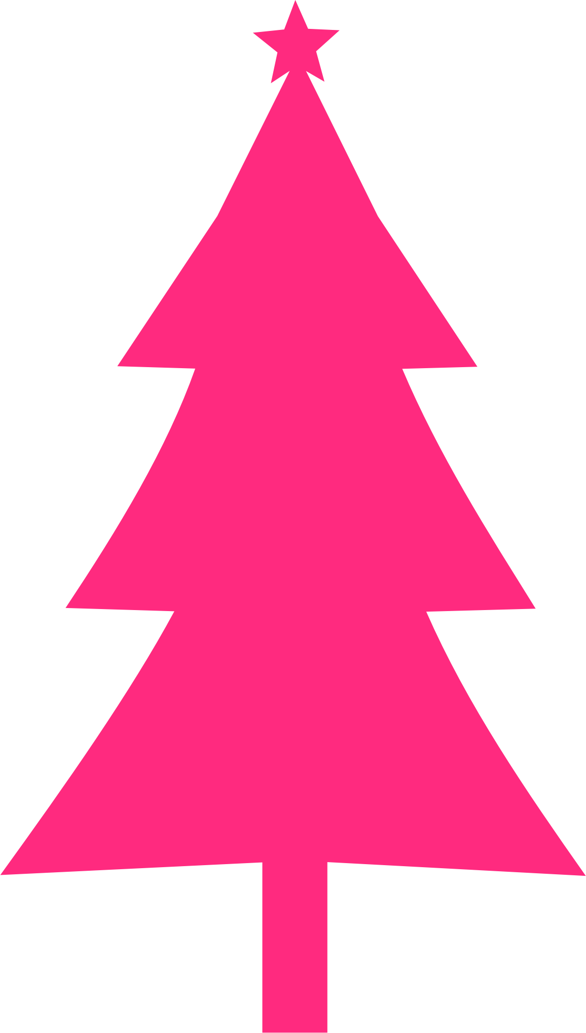 Christmas tree Silhouette by fcocfg