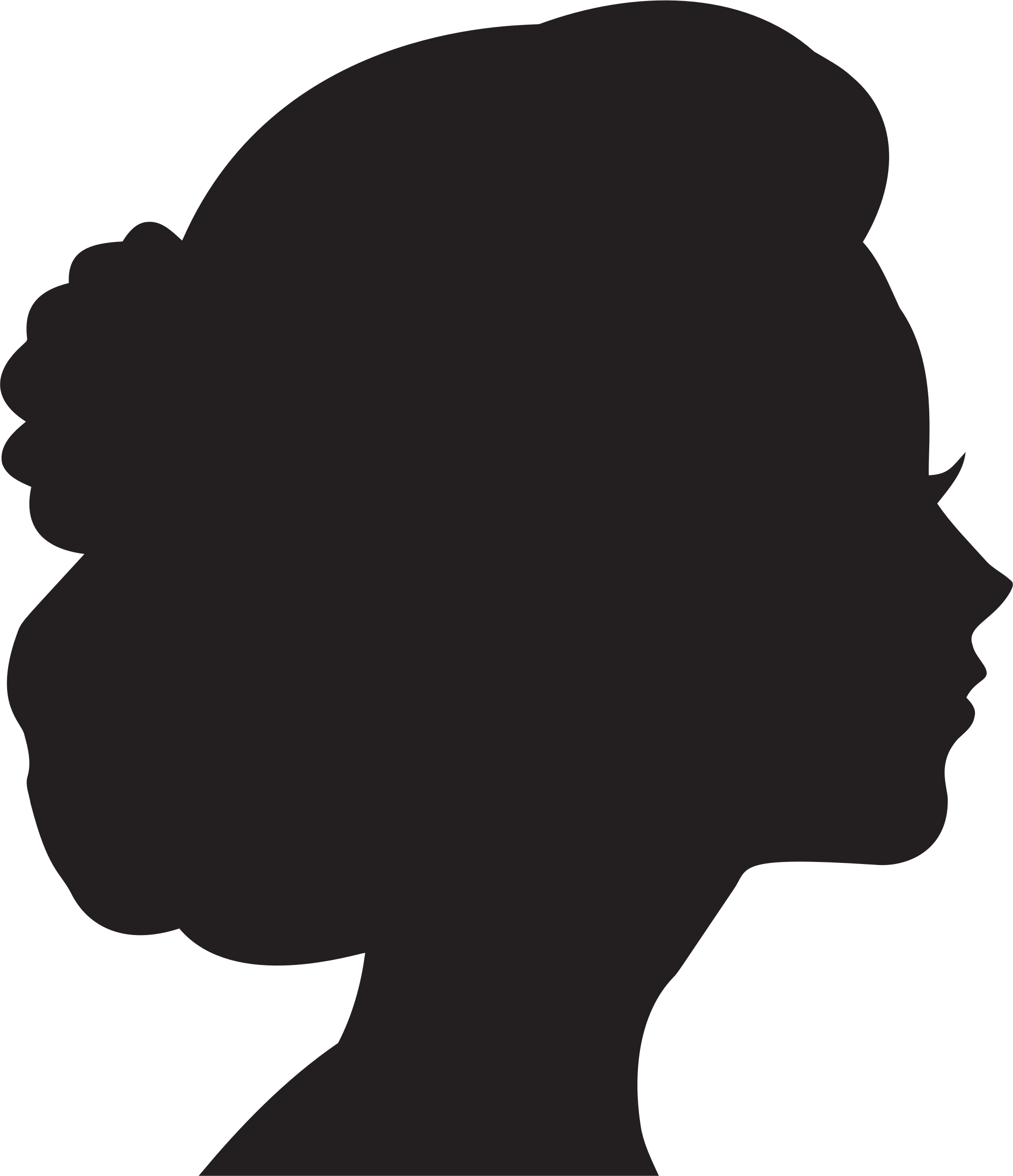 Face Silhouette Profile Images Stock Photos amp Vectors