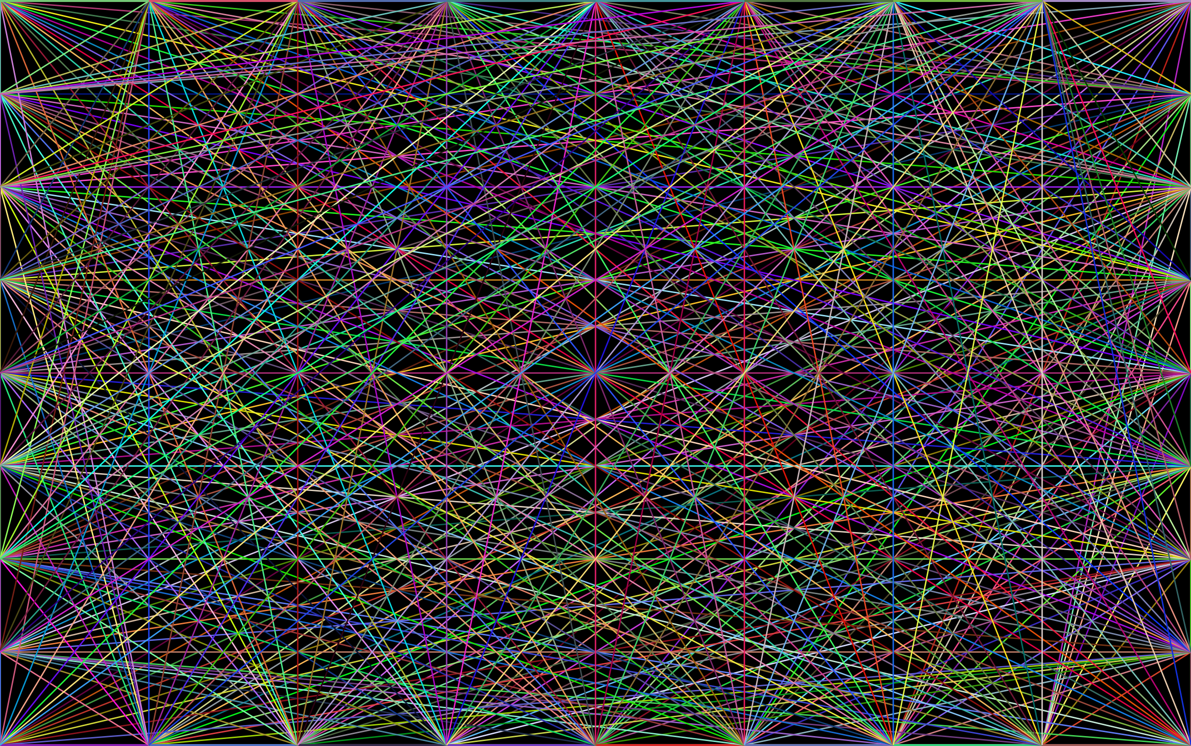 Prismatic Network Background by GDJ