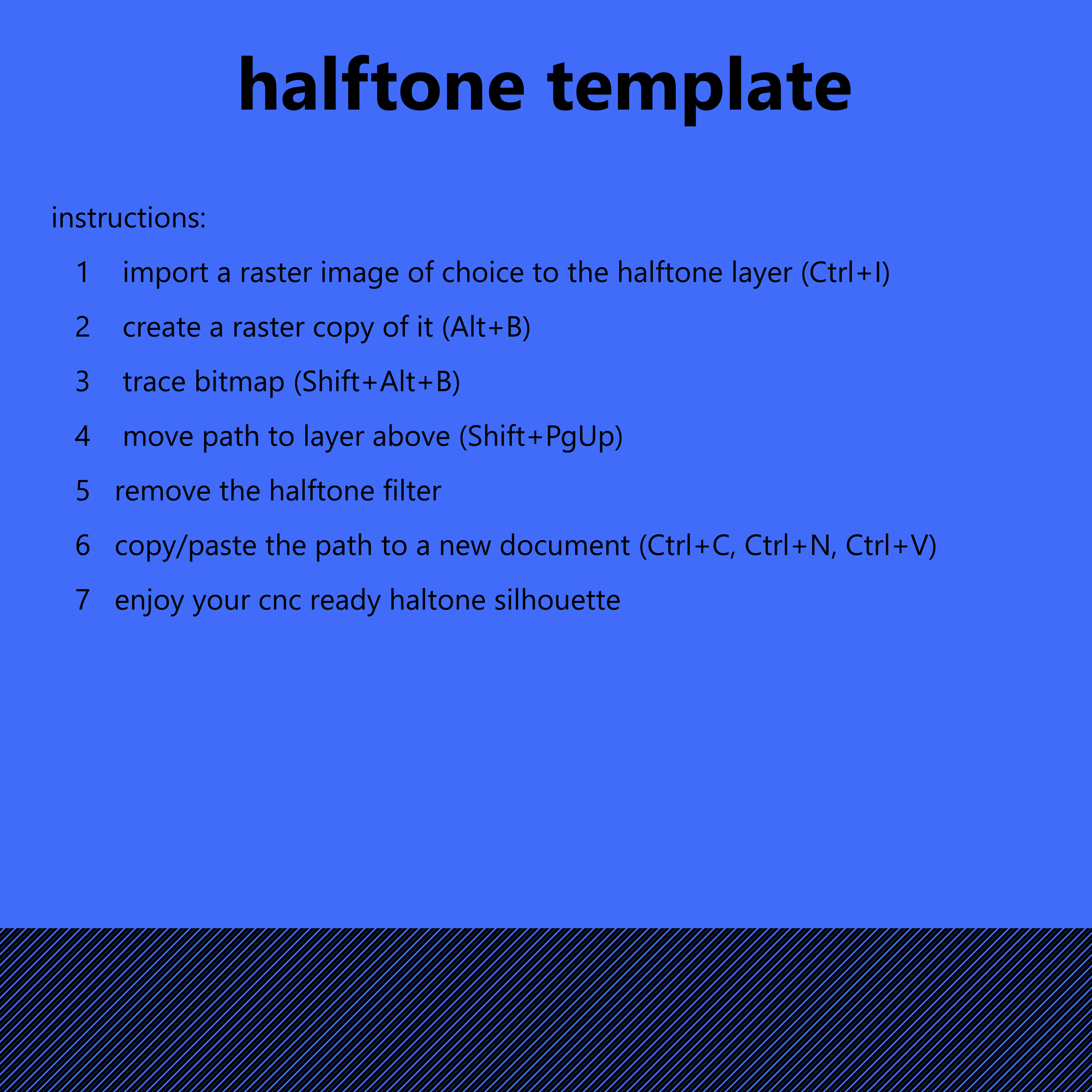 halftone template by Lazur URH