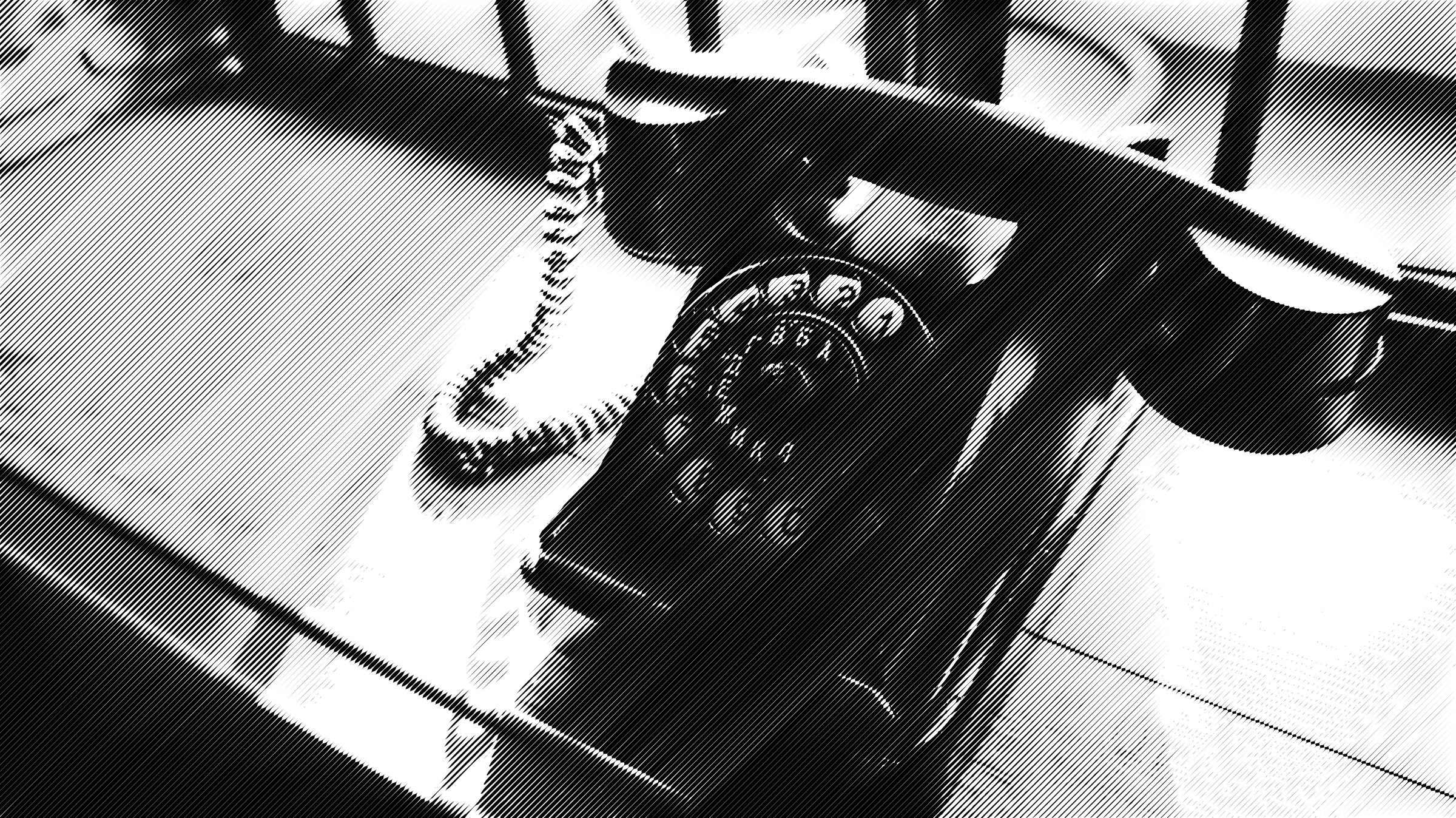 halftone telephone by Lazur URH