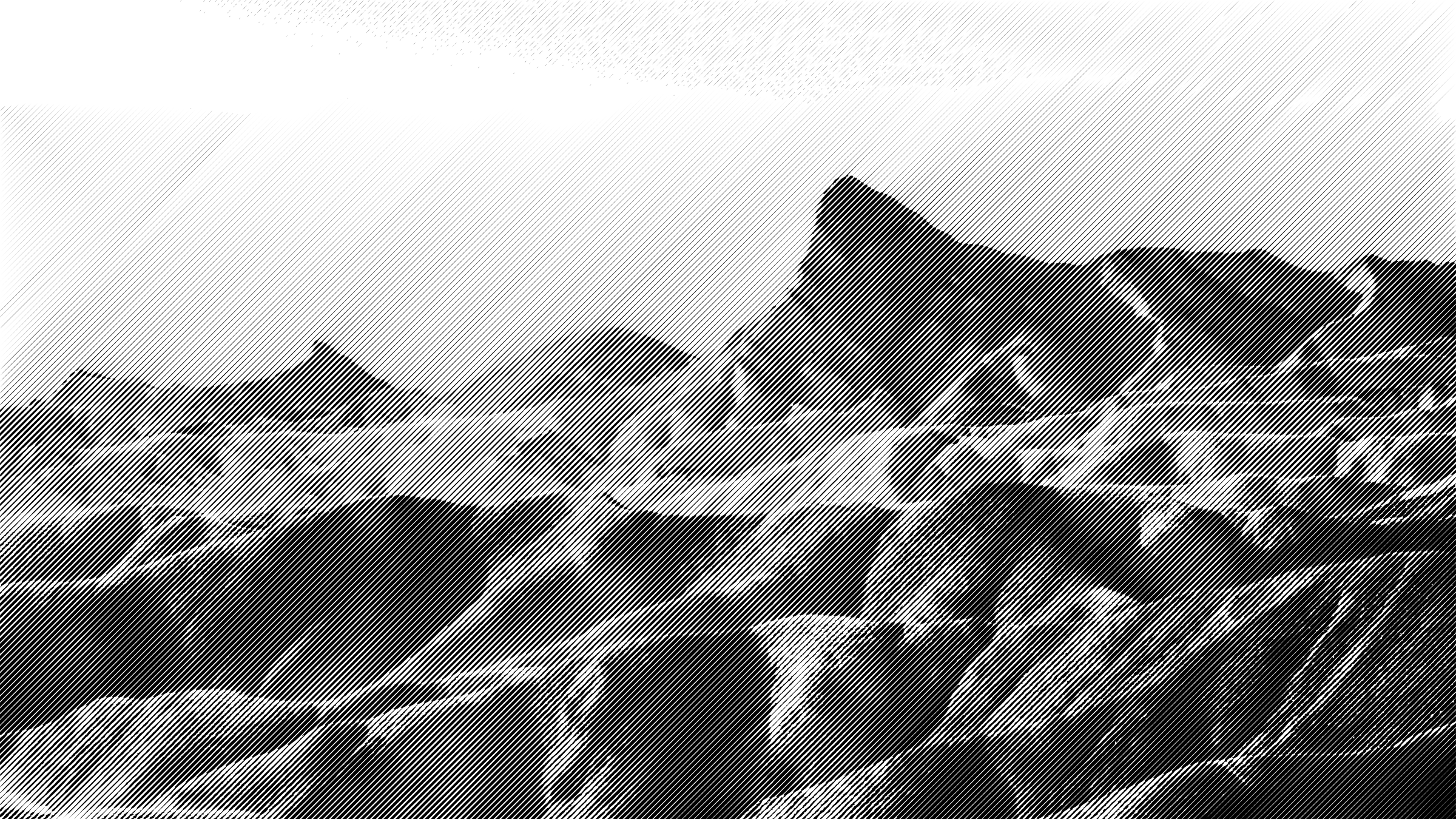 halftone mountains 2 by Lazur URH